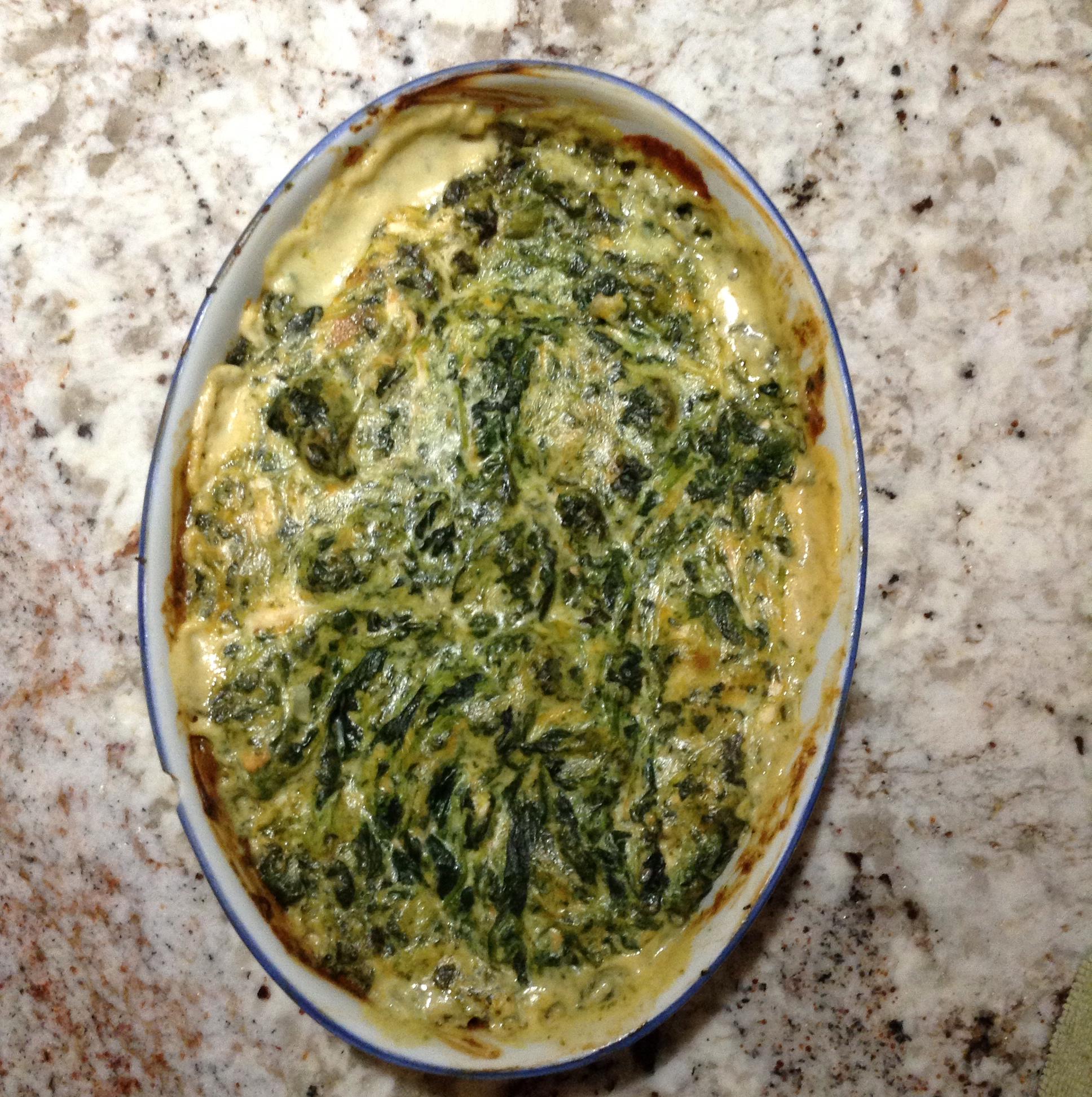 Luscious Spinach Artichoke Dip Enim