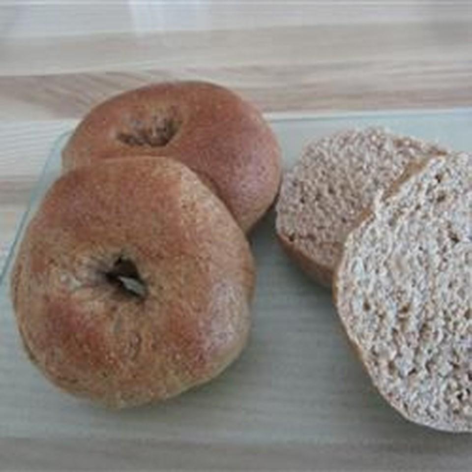 Whole Wheat Bagels AllrecipesPhoto