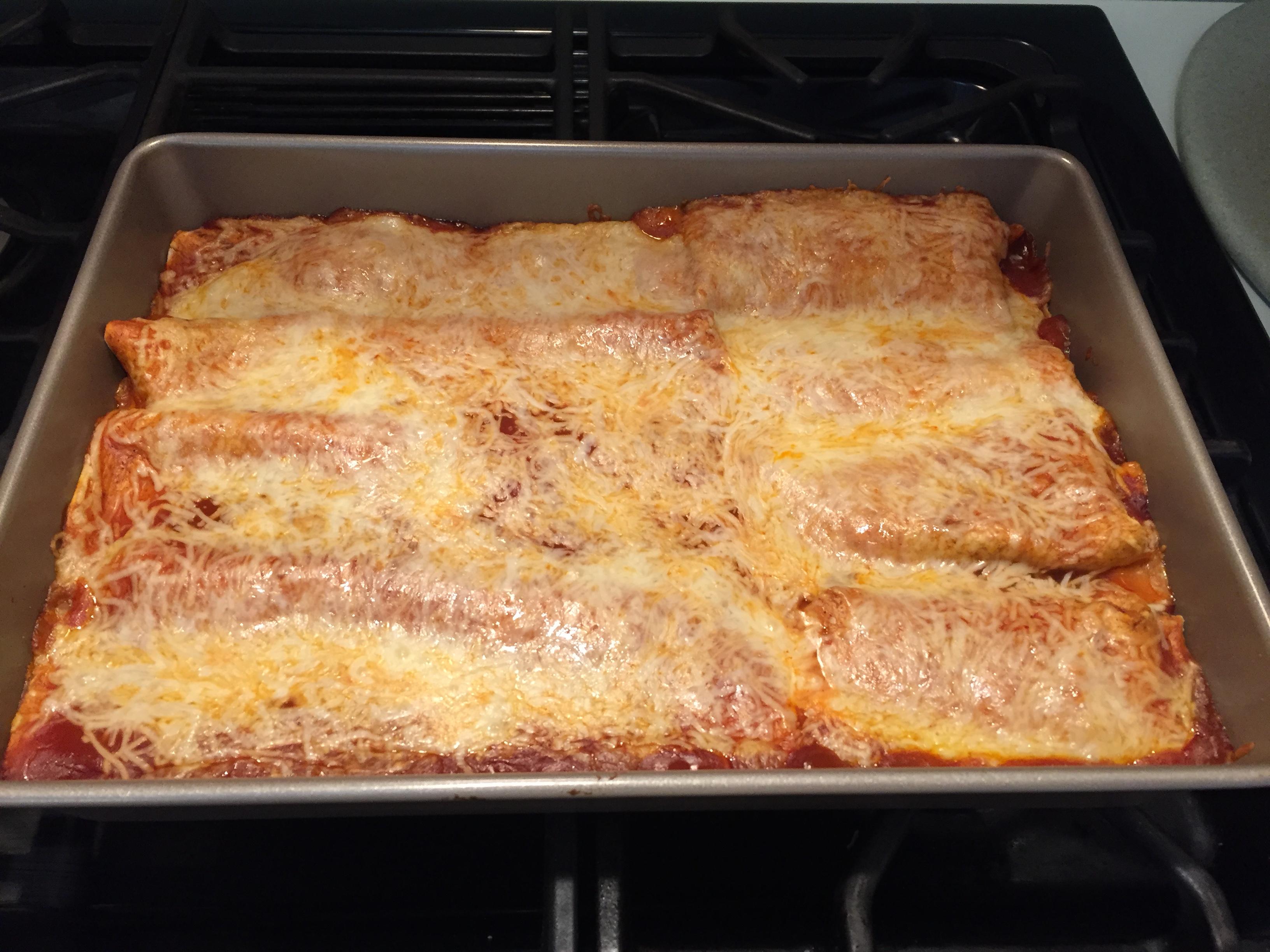 Homemade Chicken Enchiladas Kelly Mergendahl Fracasse