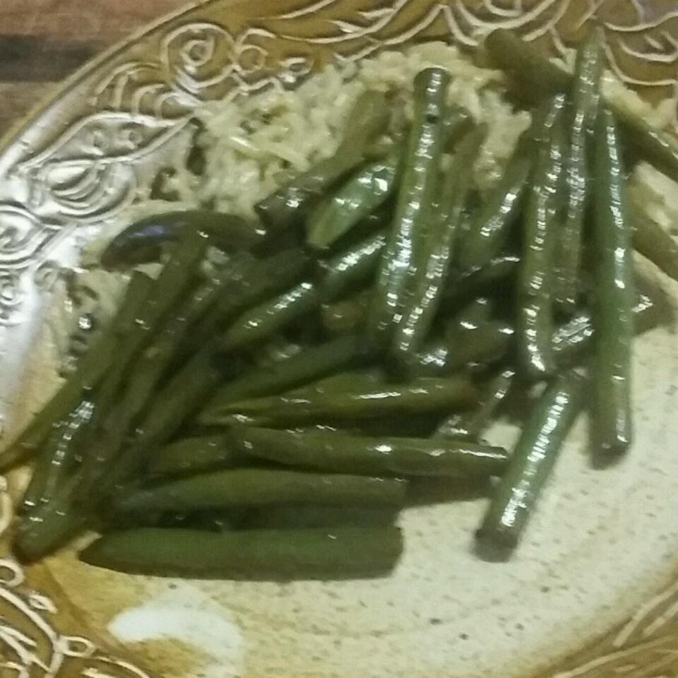Dad's Pan-Fried Green Beans Ang0331