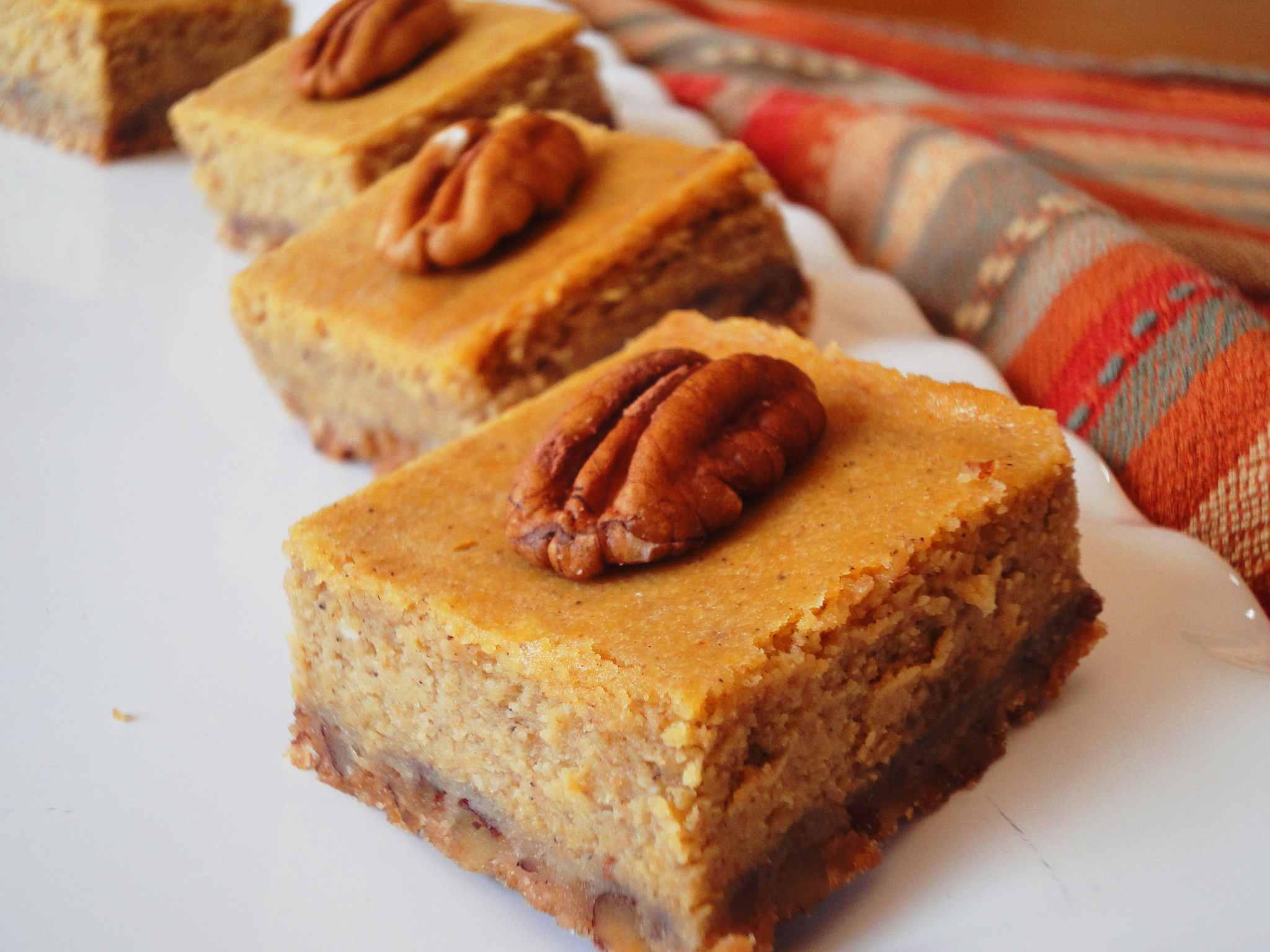 Perfect Pumpkin Cheesecake Bars