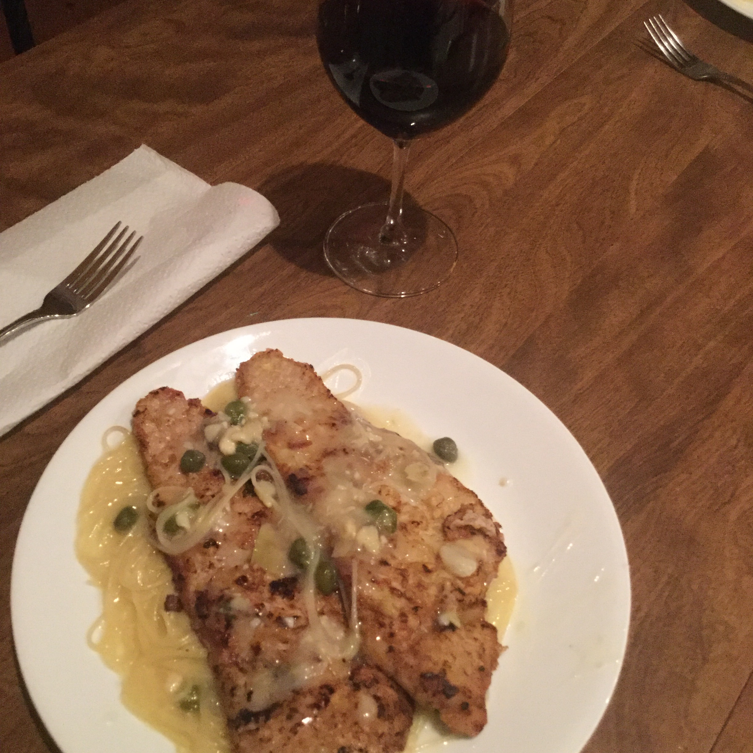 Pick of the Piccata Sauce Mary Lafferty