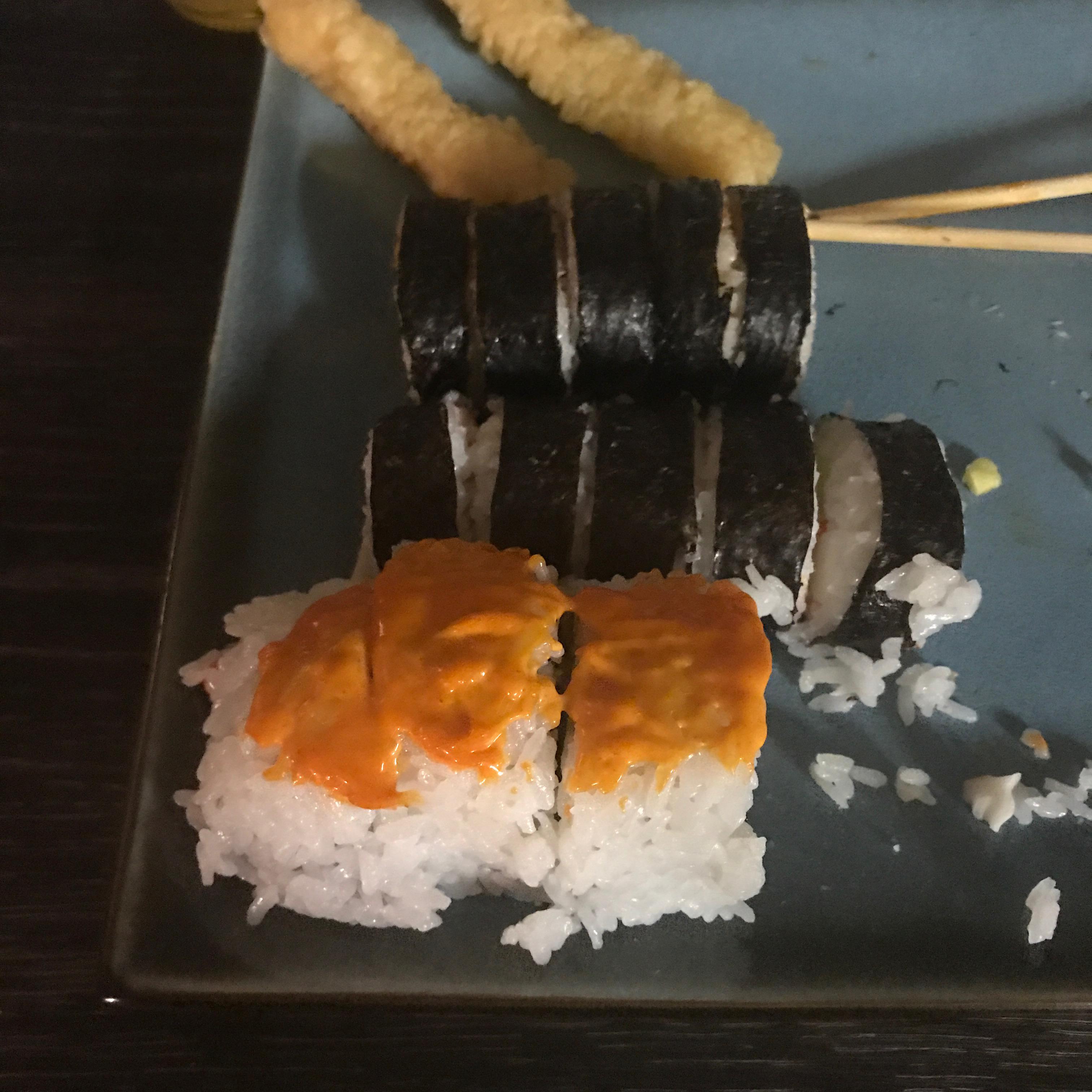 Cream Cheese and Crab Sushi Rolls