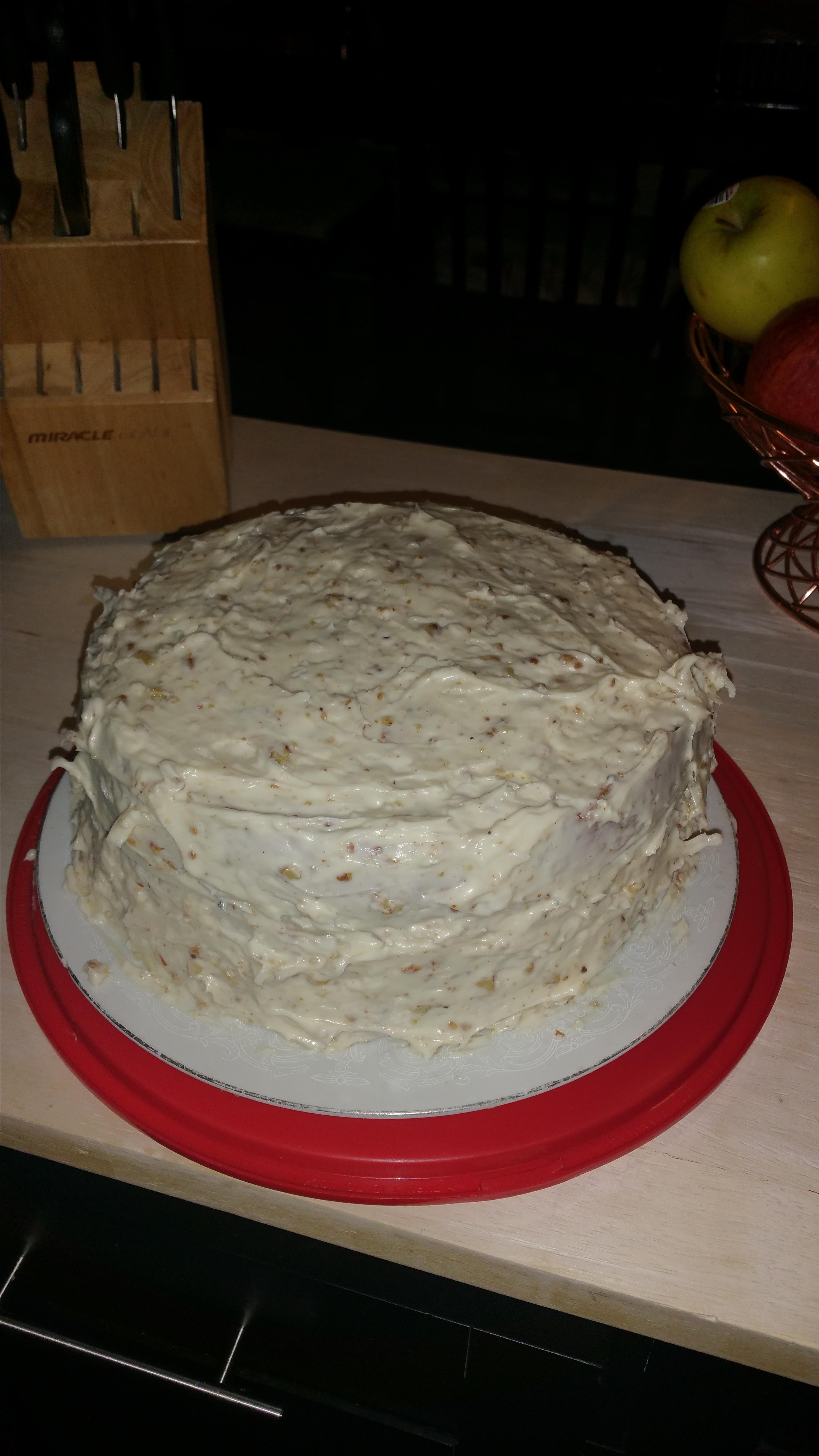Holiday Left-Over Sweet Potato Cake Regina