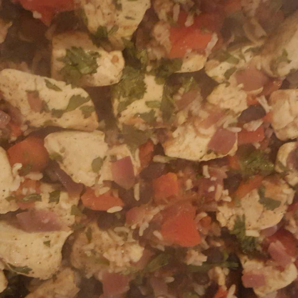 Chicken and Black Bean Casserole Dianah Childers