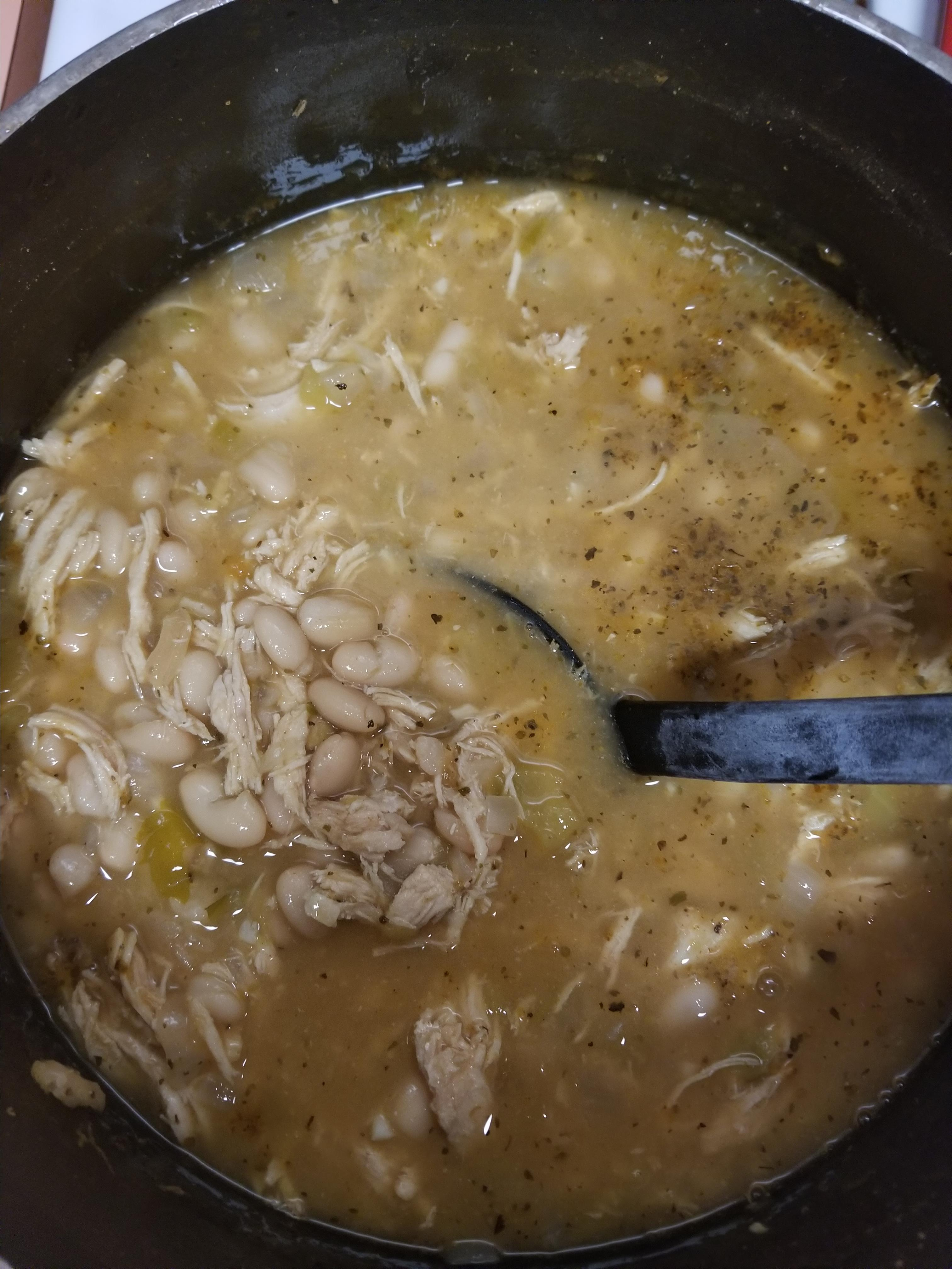 Easy White Chili david zack