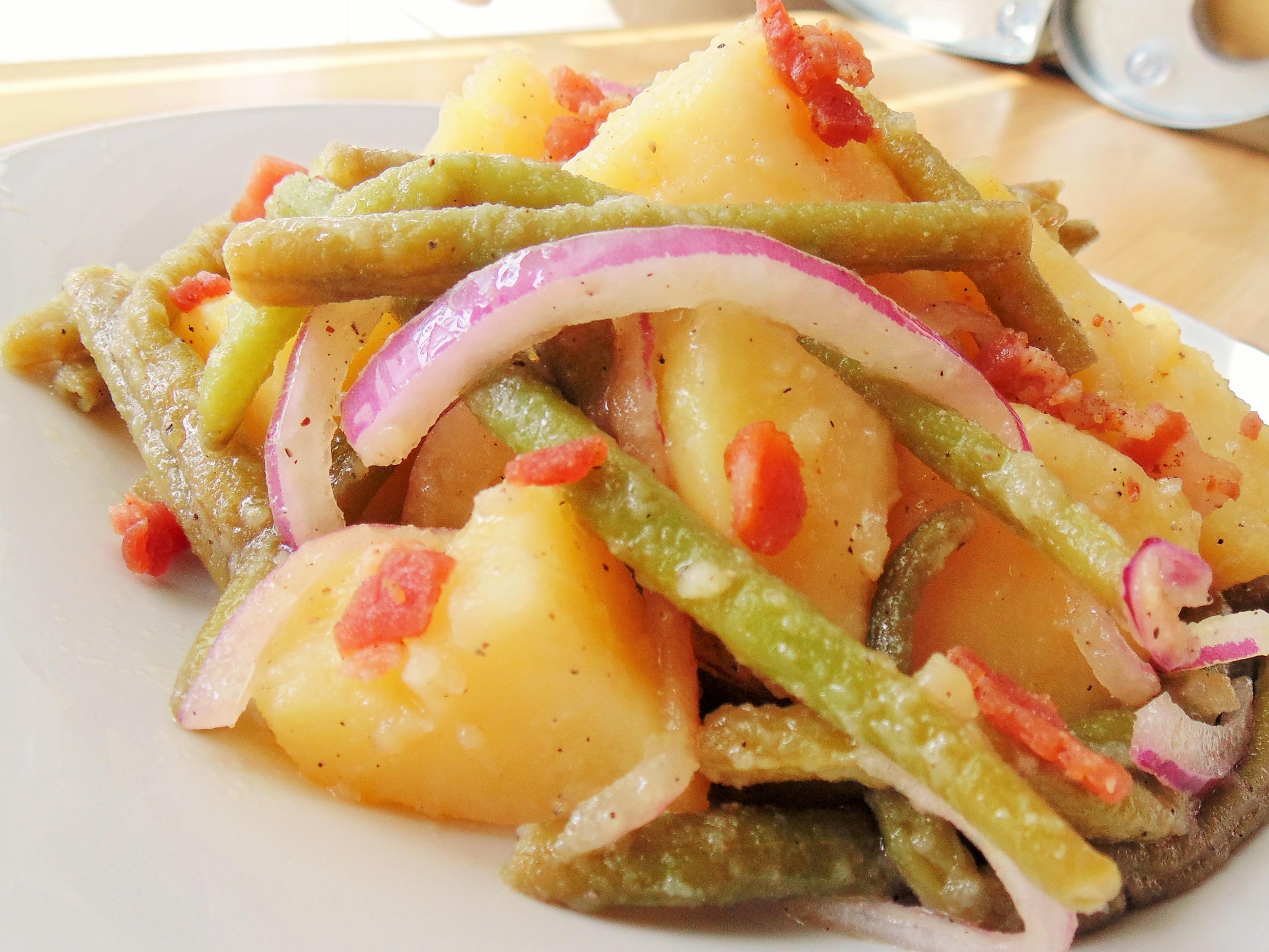 Green Beans and Potato Salad