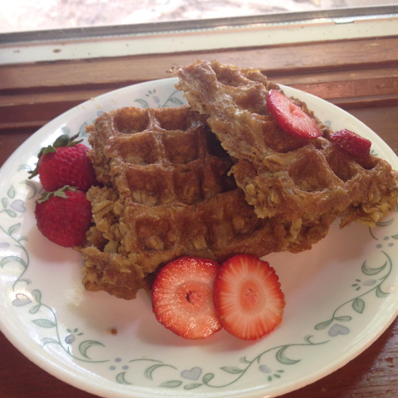 Cathy's Gluten-Free Oatmeal Waffles Abigail Smith