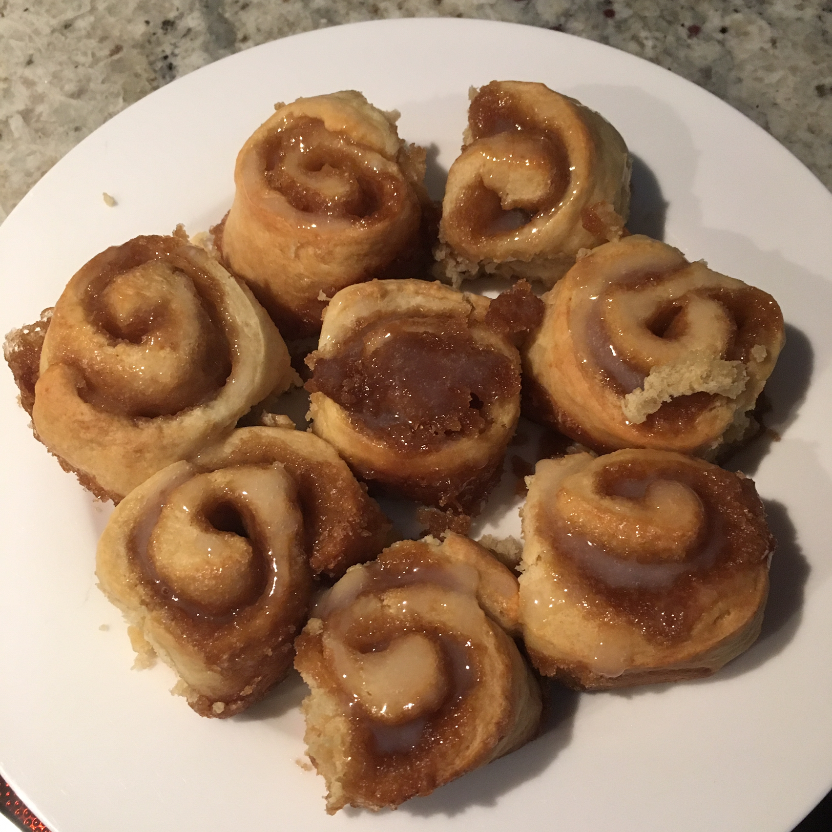 Yeast-Free Cinnamon Rolls sshime