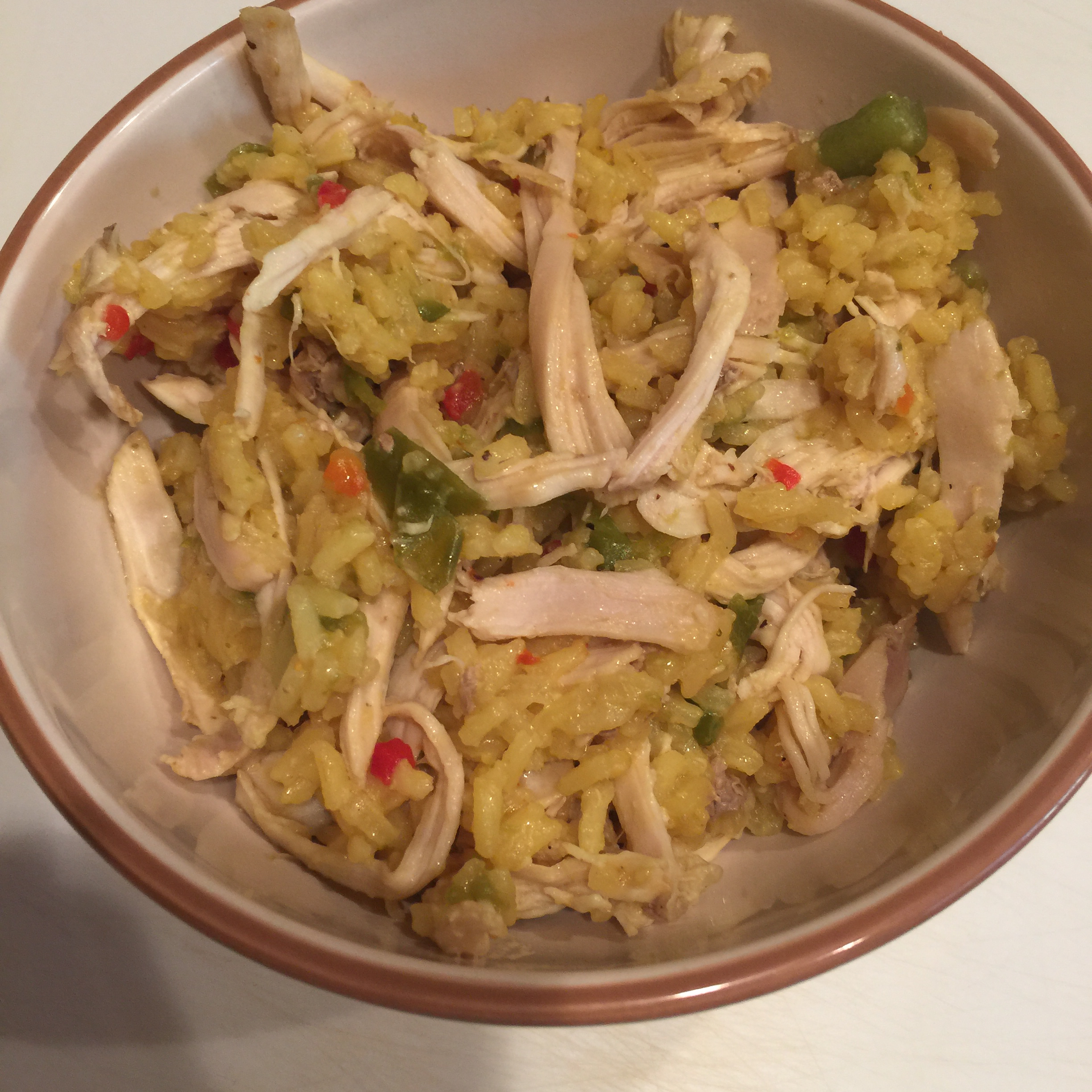 Awesome Chicken and Yellow Rice Casserole Riley Warren