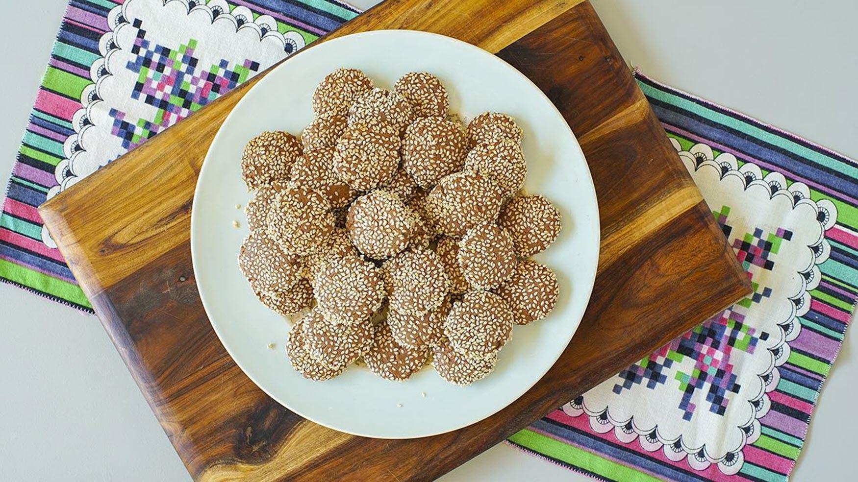Vegan Tahini Cookies Magda