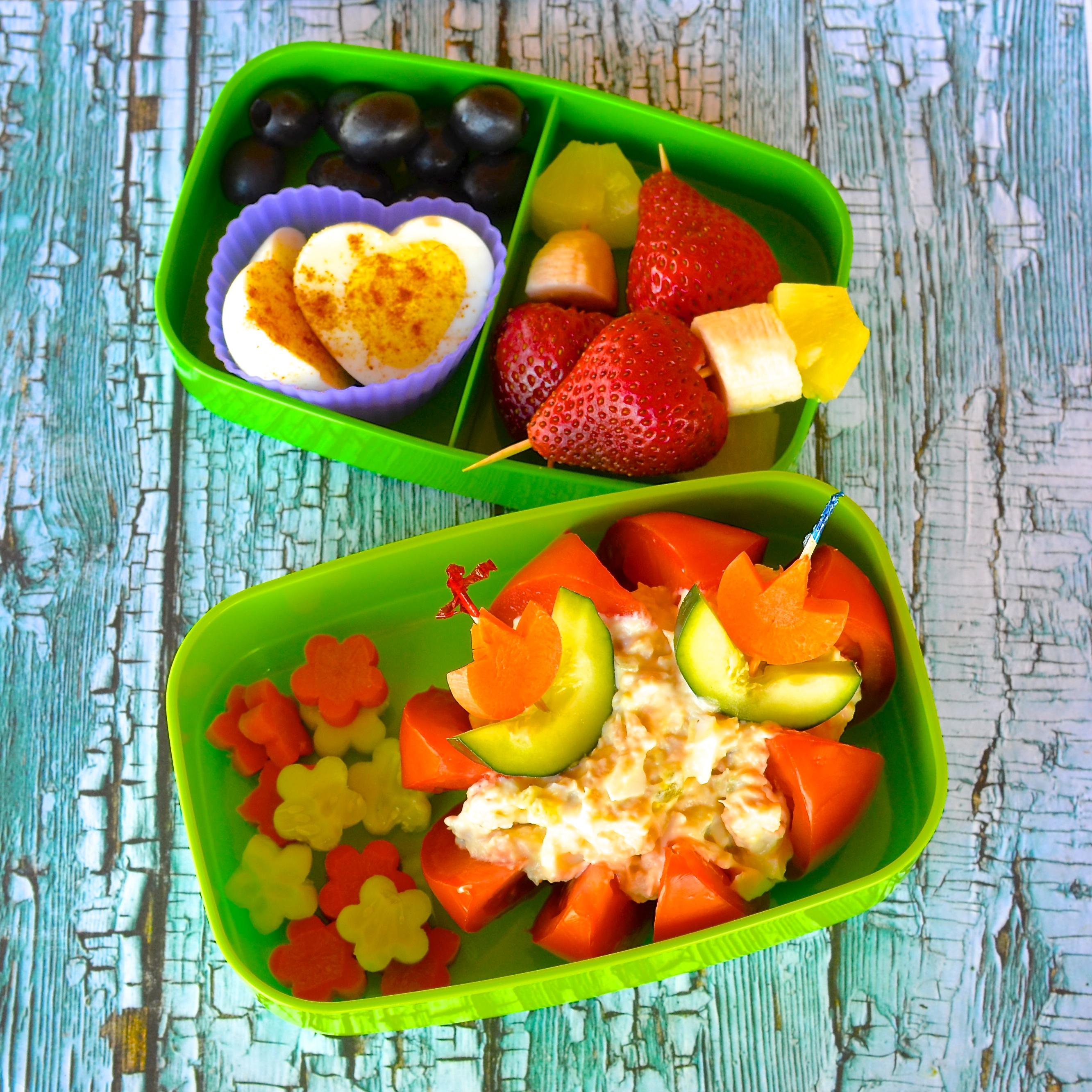 Tuna Egg Salad Bento Box Lela