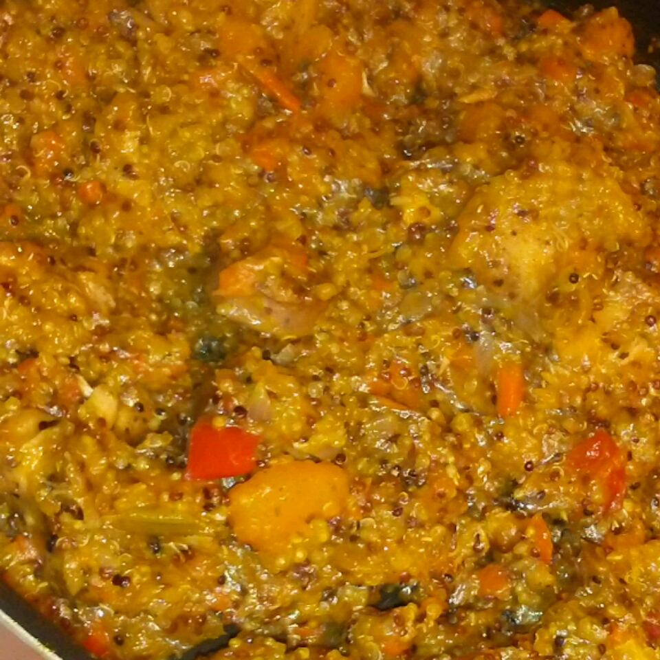 Stovetop Butternut Squash and Chicken Stew with Quinoa Christine Urbanski