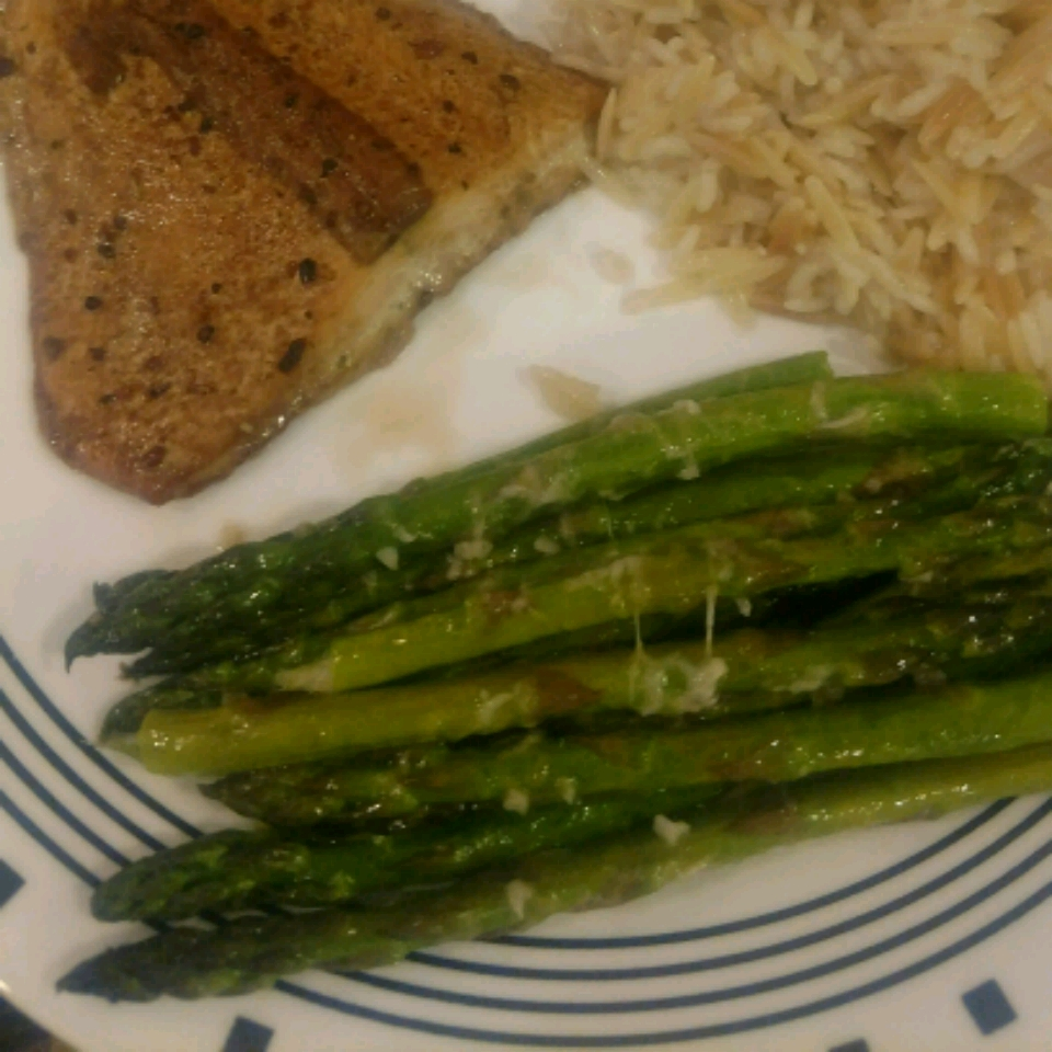 Oven-Roasted Asparagus Michelle The Mom