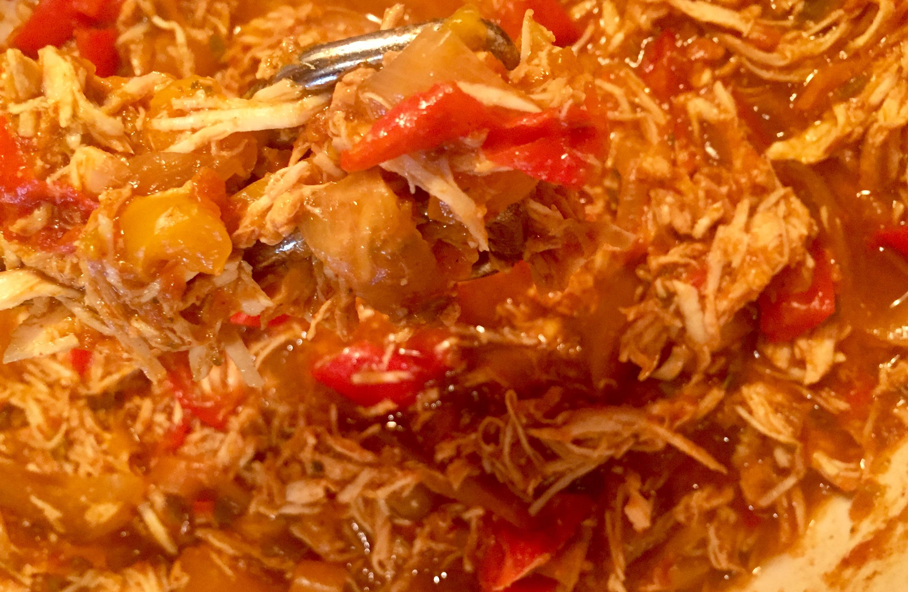 Karen's Slow Cooker Chicken Fajitas Becky Ross