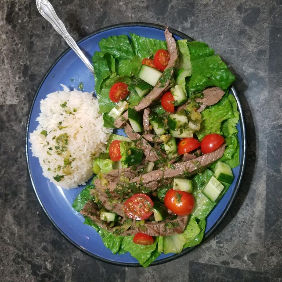 Thai Beef Salad Brian Dickey