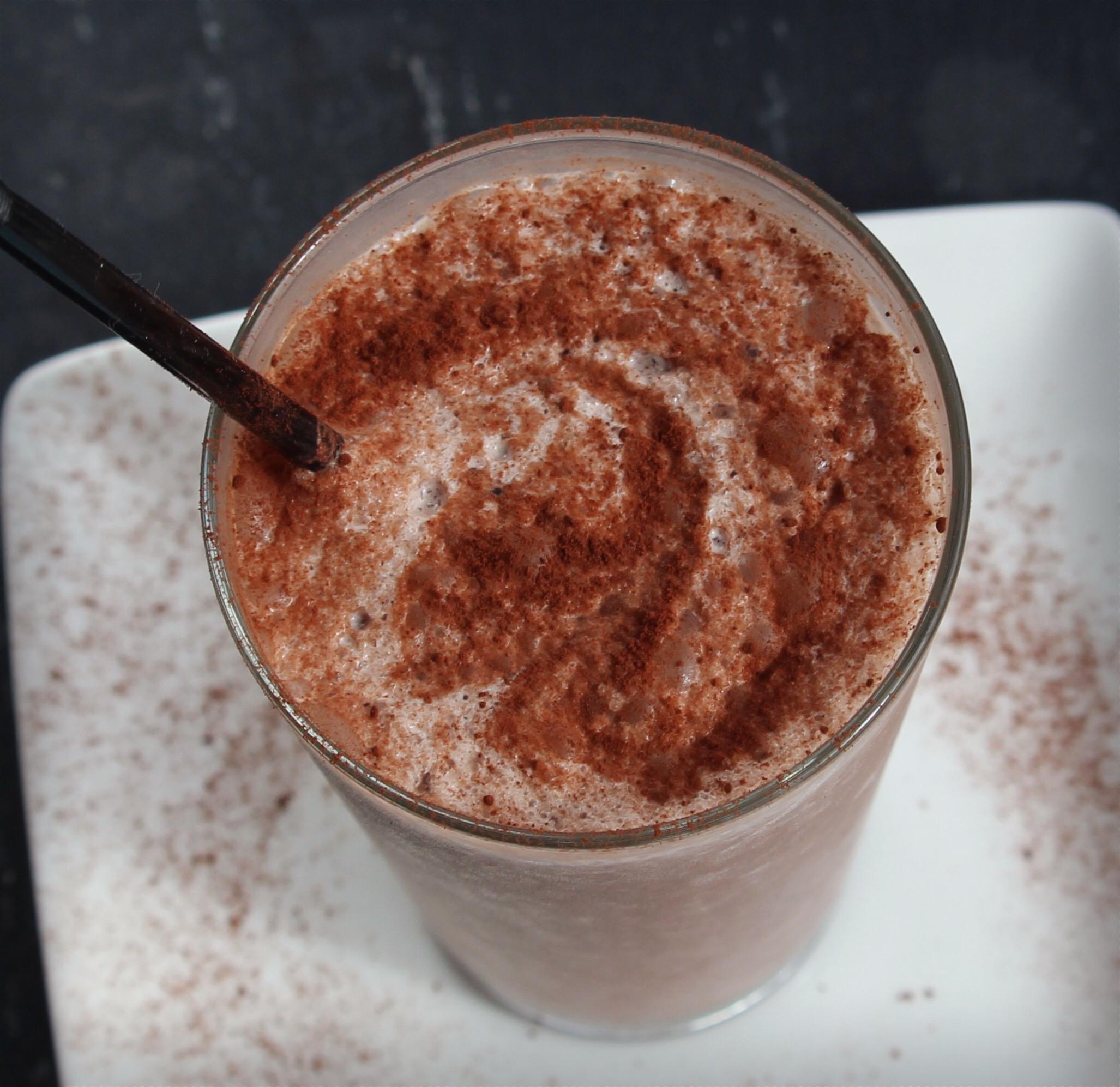 Chocolate Sunset Smoothie