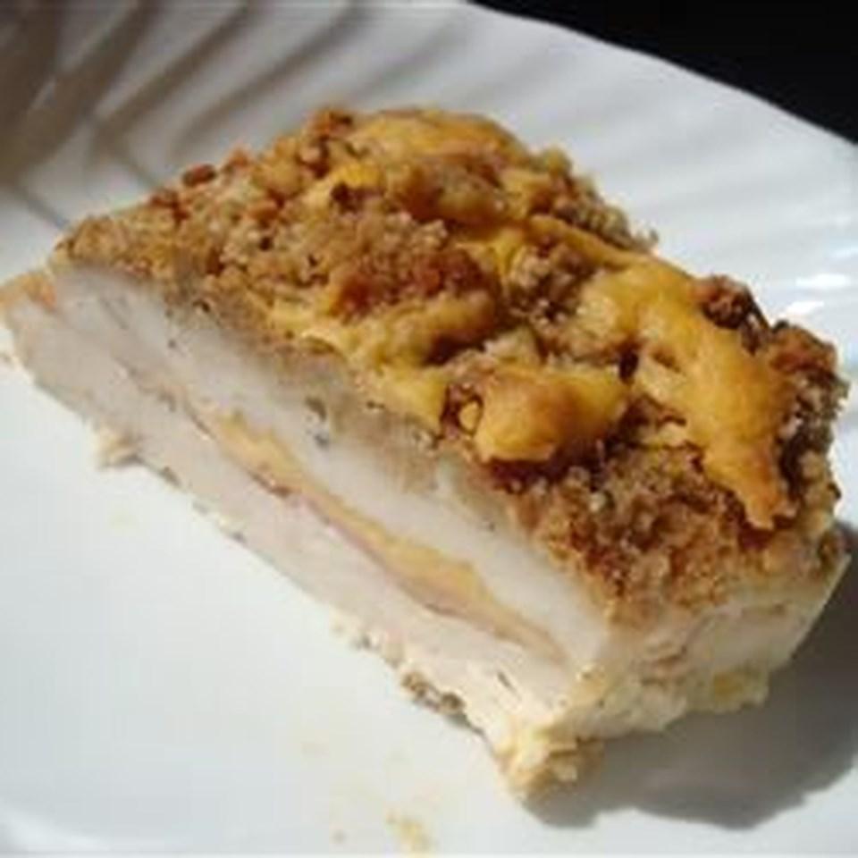 Easy Oven-Baked Chicken Cordon Bleu