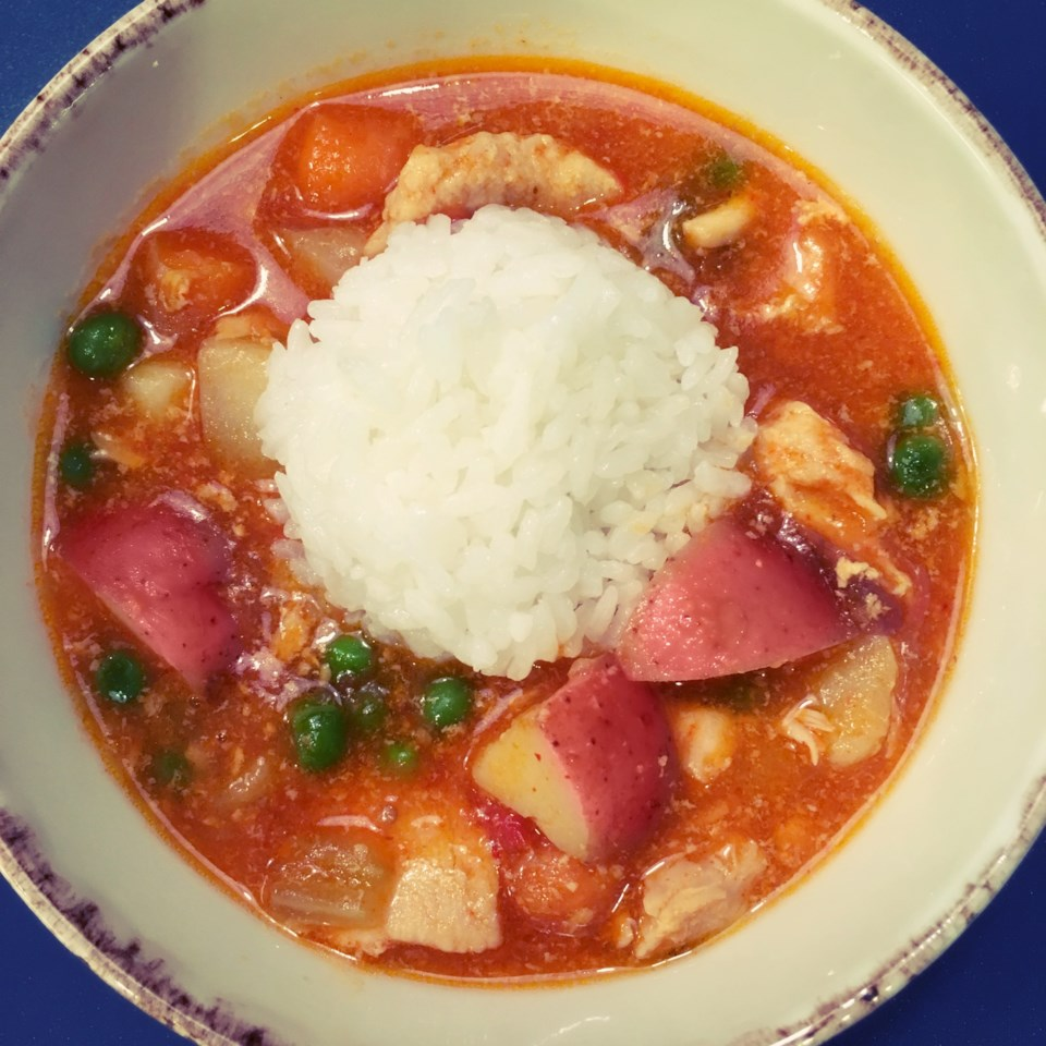 Instant Pot® Thai Red Curry with Chicken Diana71