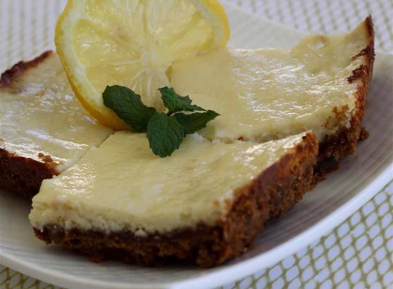 Ginger-Lemon Cheesecake Bites