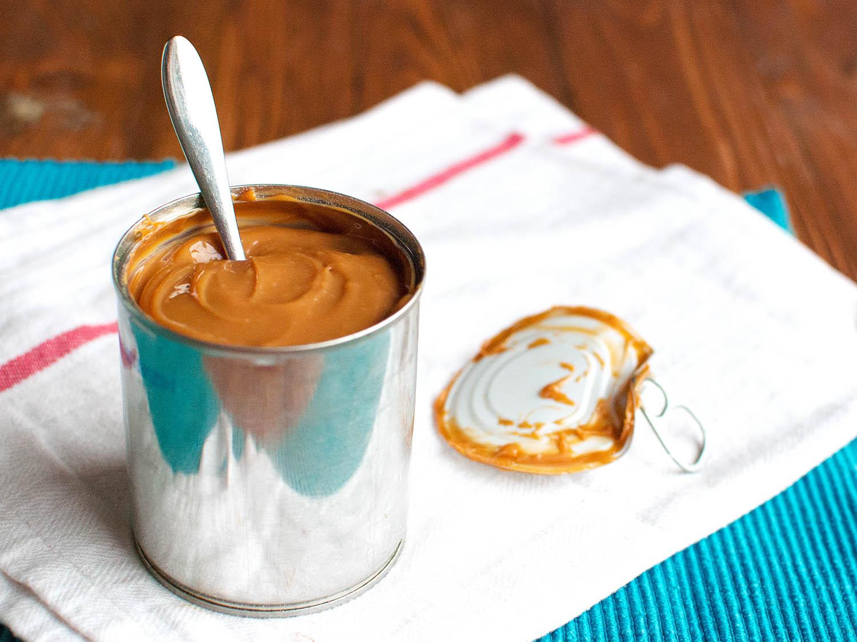 Caramel in a Can (Dulce De Leche)