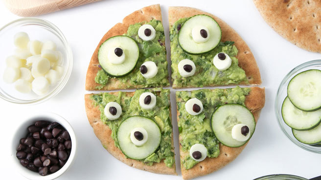 No-Bake Monster Pita Pizza Trusted Brands