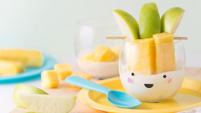Pine-Apple  Fruit & Yogurt Cups Trusted Brands