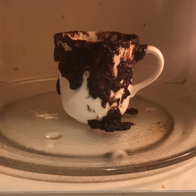 Individual Microwave Brownie