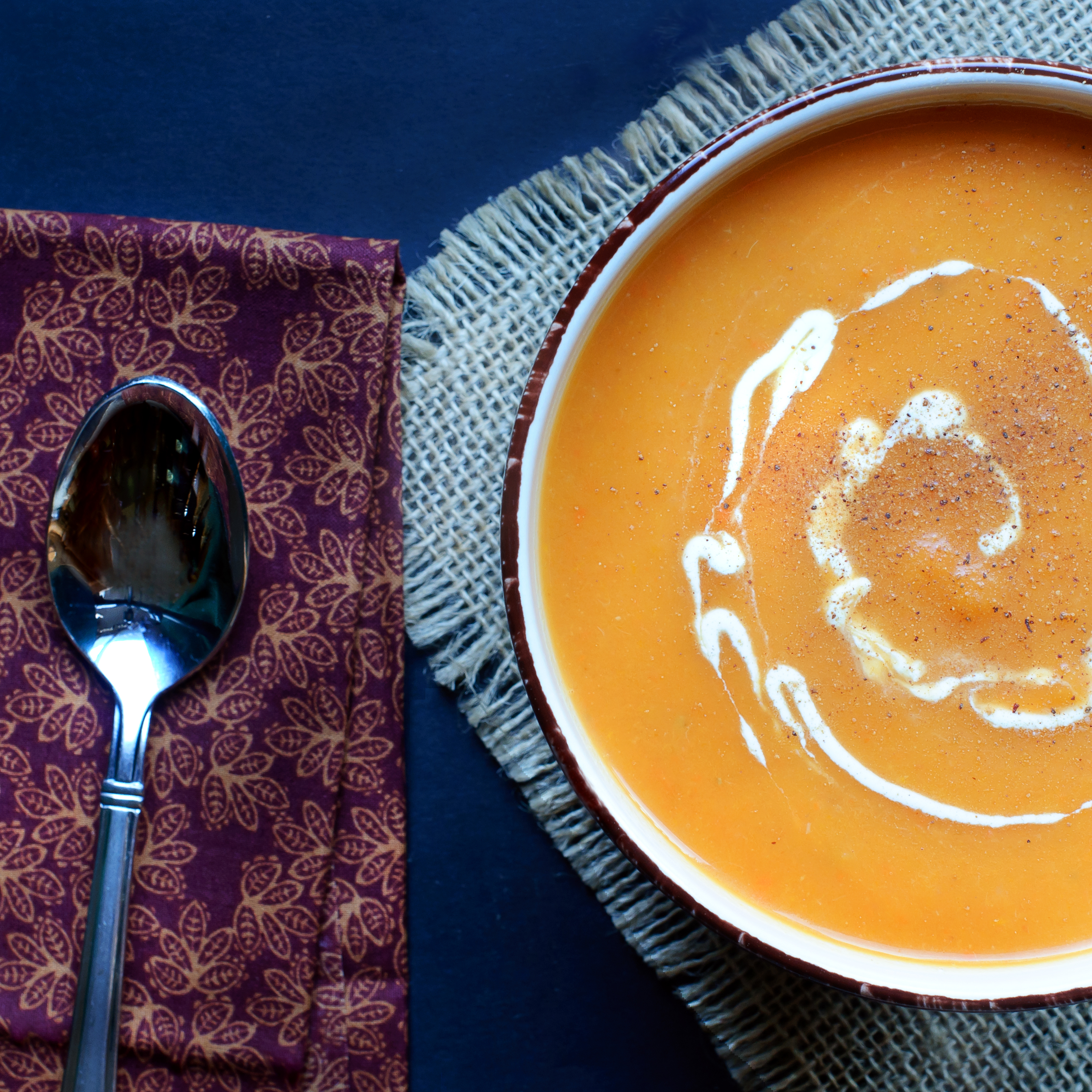Easy Butternut Squash and Pear Soup