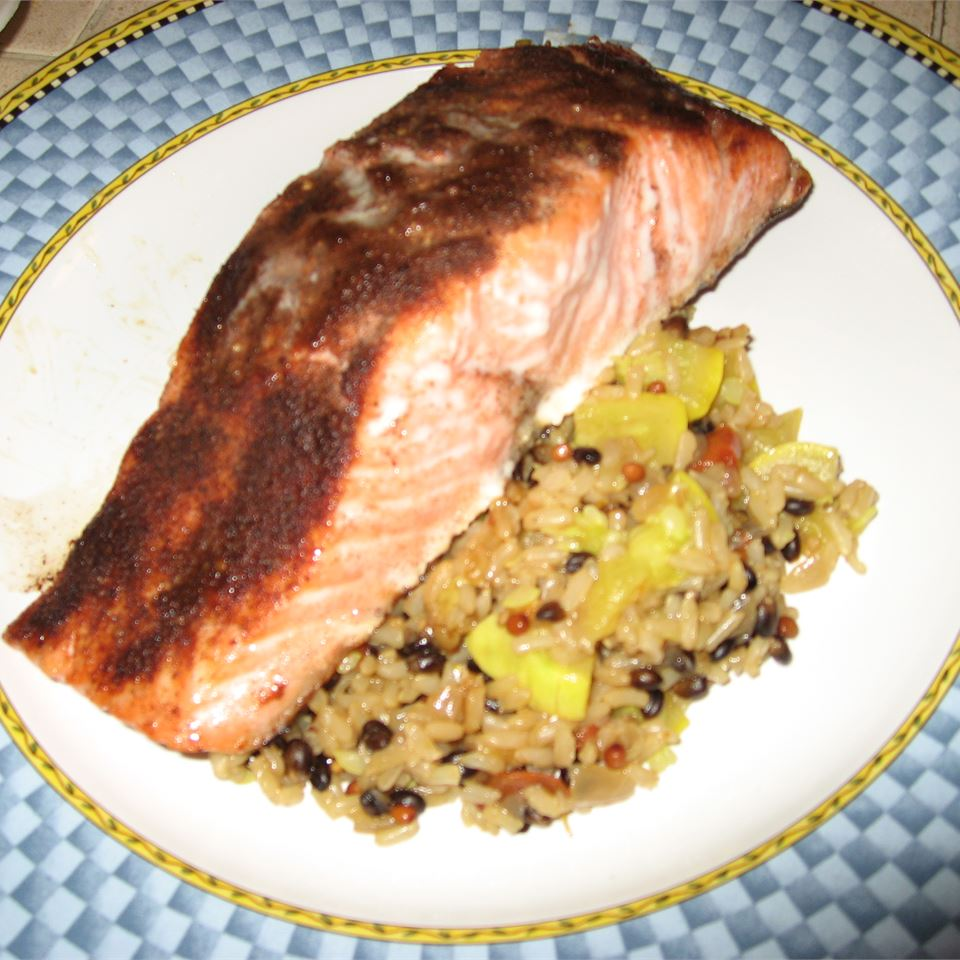 Cold Roasted Moroccan Spiced Salmon MG2018