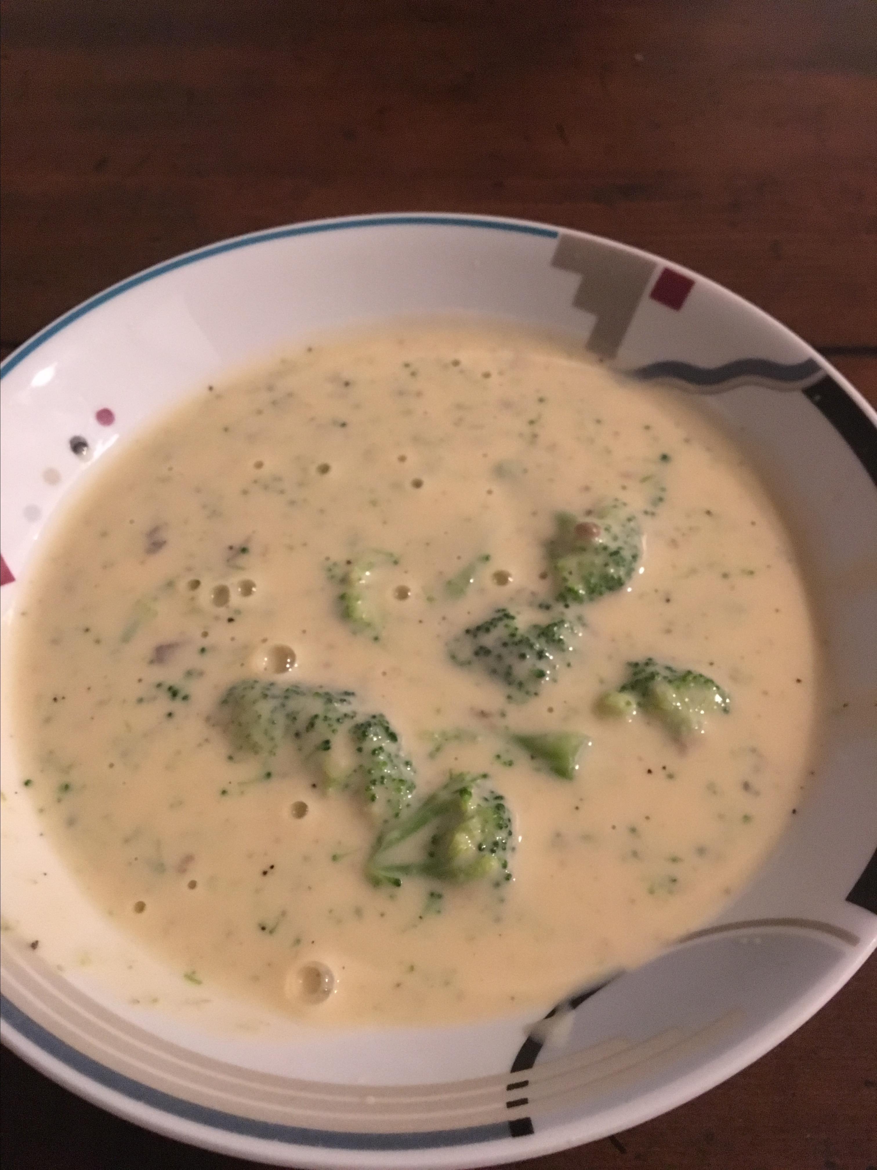Easy Cheesy Cream of Broccoli Soup Joy