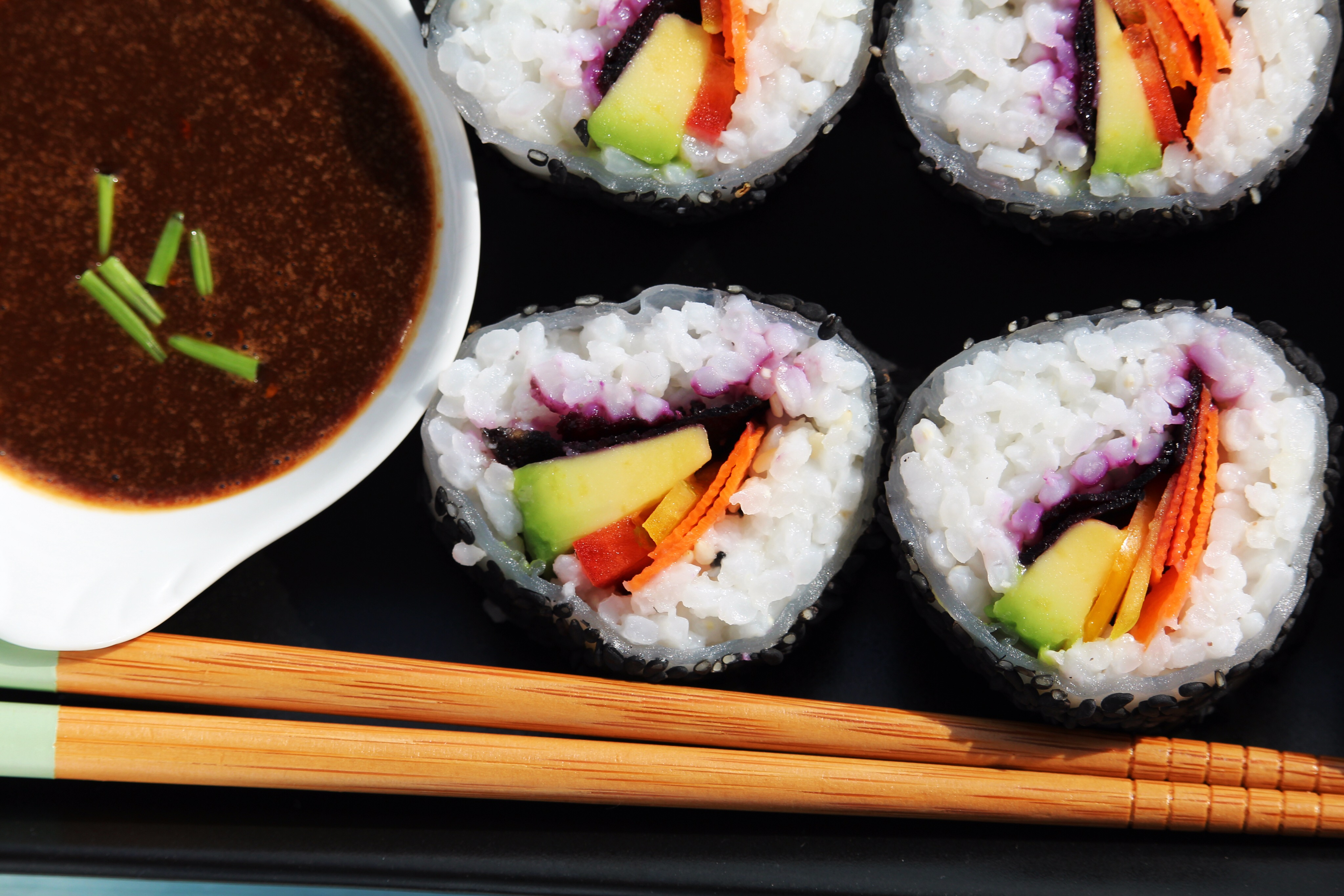 Vegetarian Sushi Buckwheat Queen