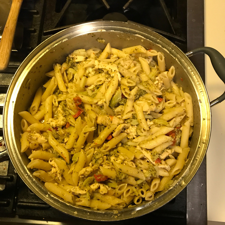 Rotini with Broccoli Lisette