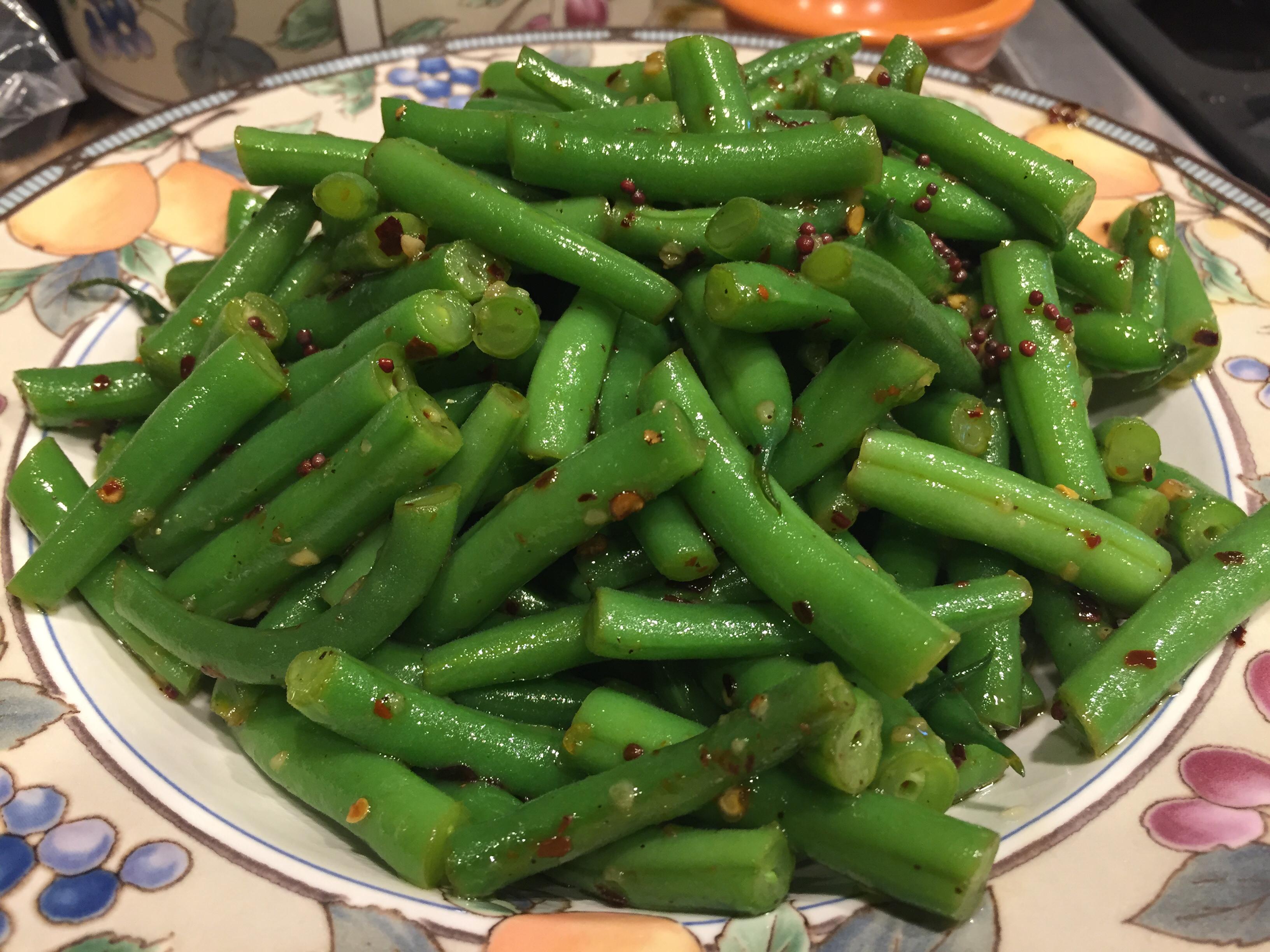 Spicy Indian (Gujarati) Green Beans Scott Moffat