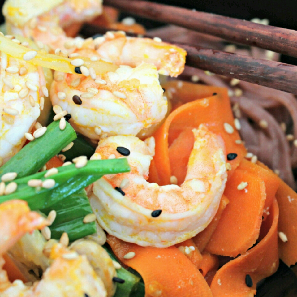 Orange Ginger Shrimp Stir-Fry Recipe ...