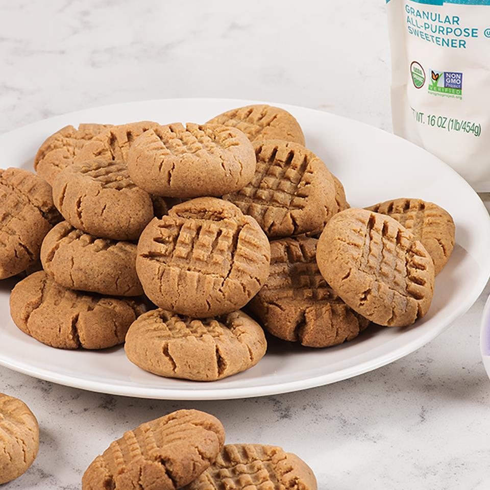 Peanut Butter Cookies from Pyure