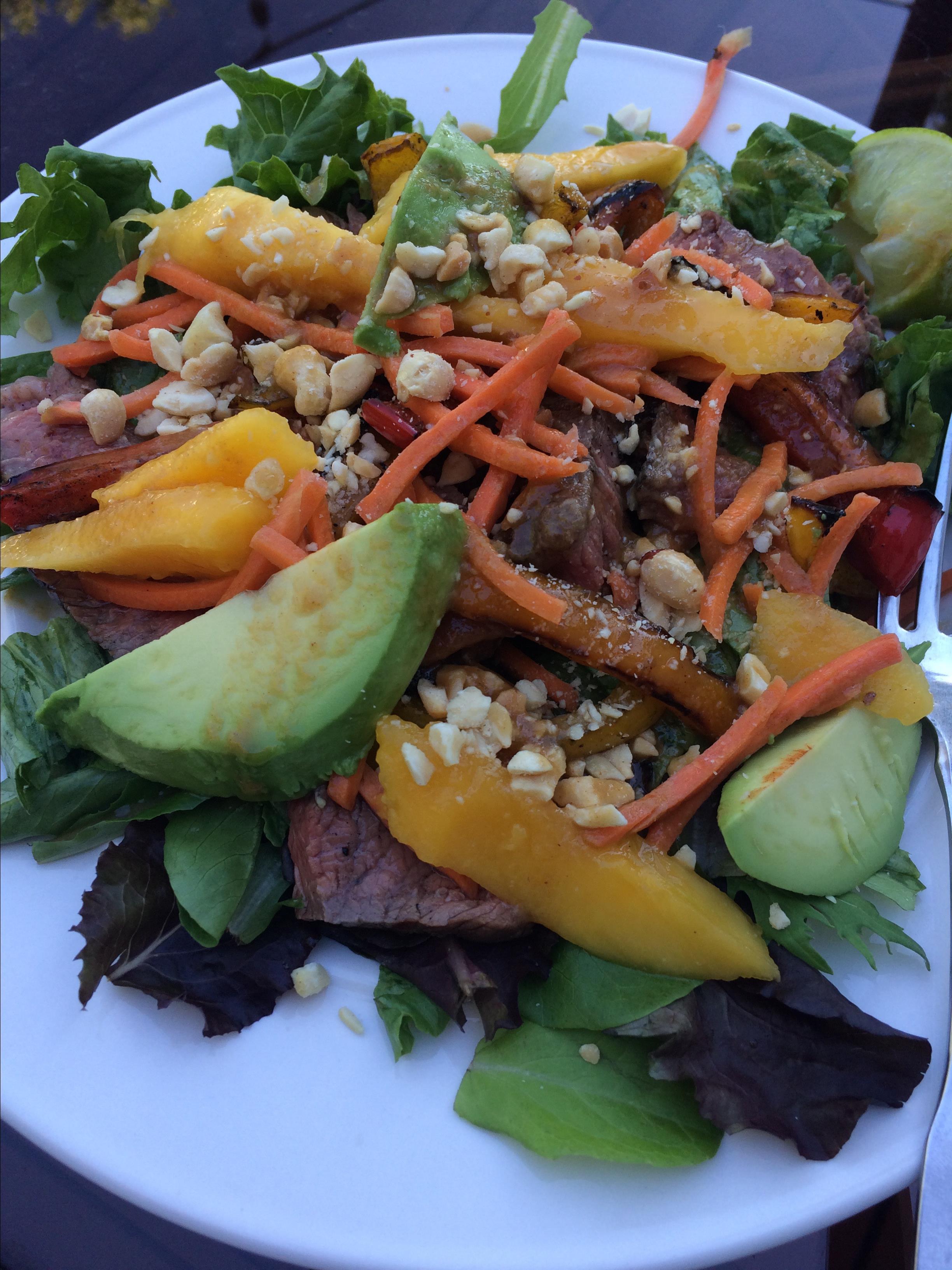 Easy Sirloin Thai Salad shellybones