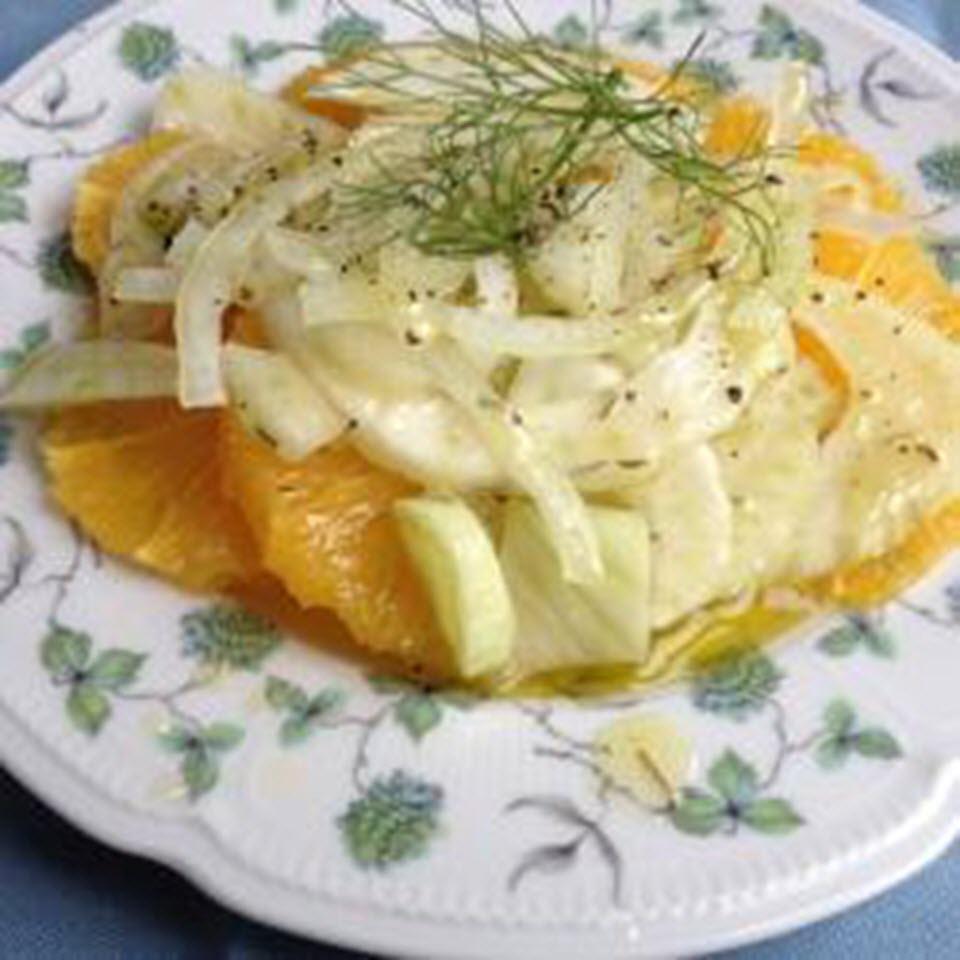 Clean Orange-Fennel Salad AllrecipesPhoto