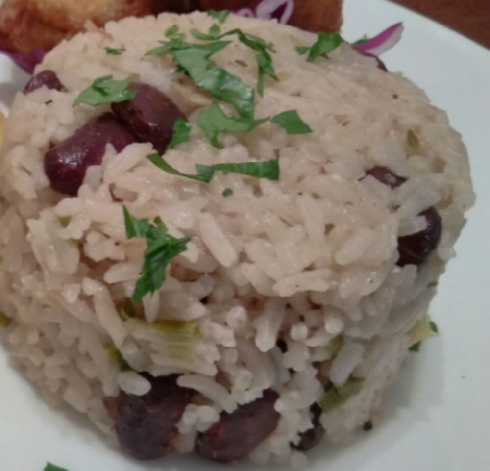 Jamaican Rice and Peas In the Kitchen with Iesha