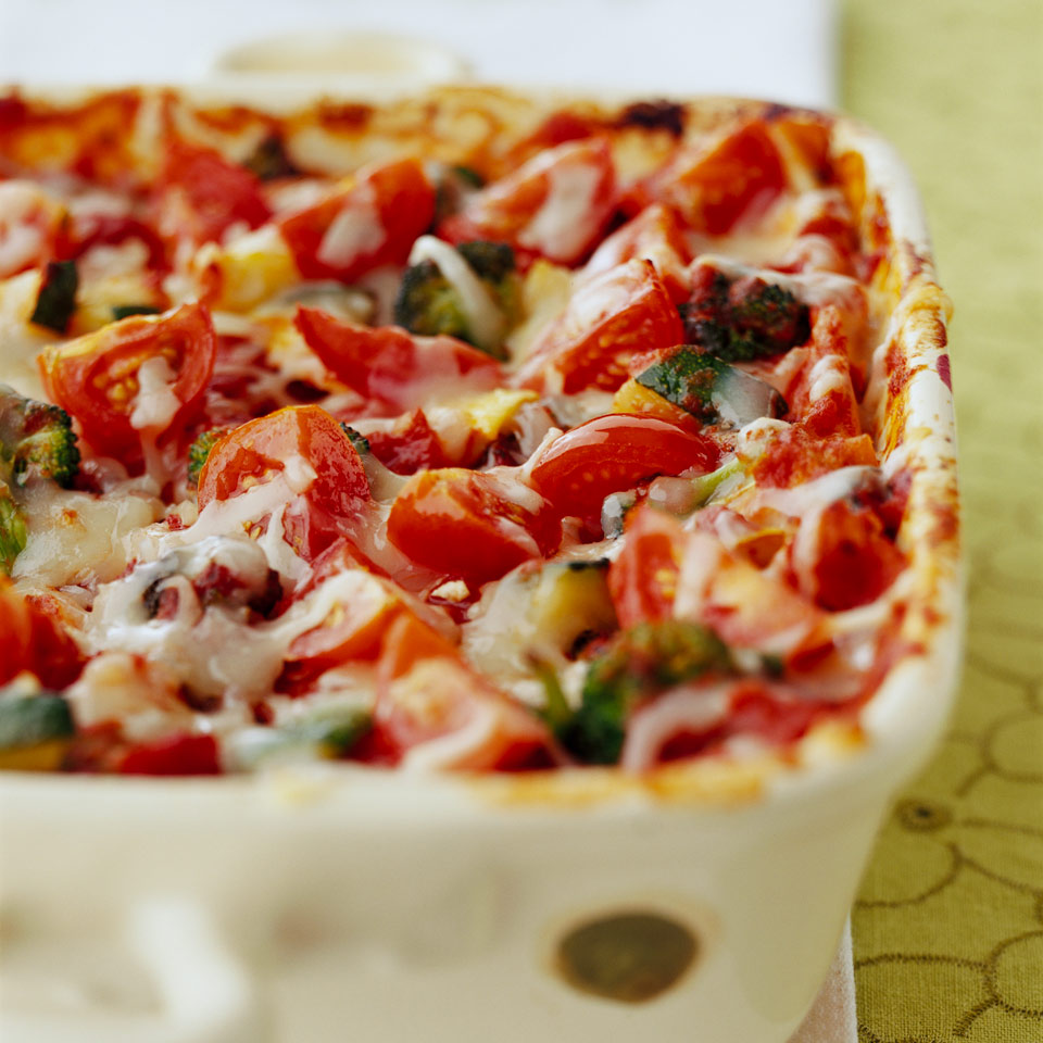 Vegetable Lasagna Diabetic Living Magazine
