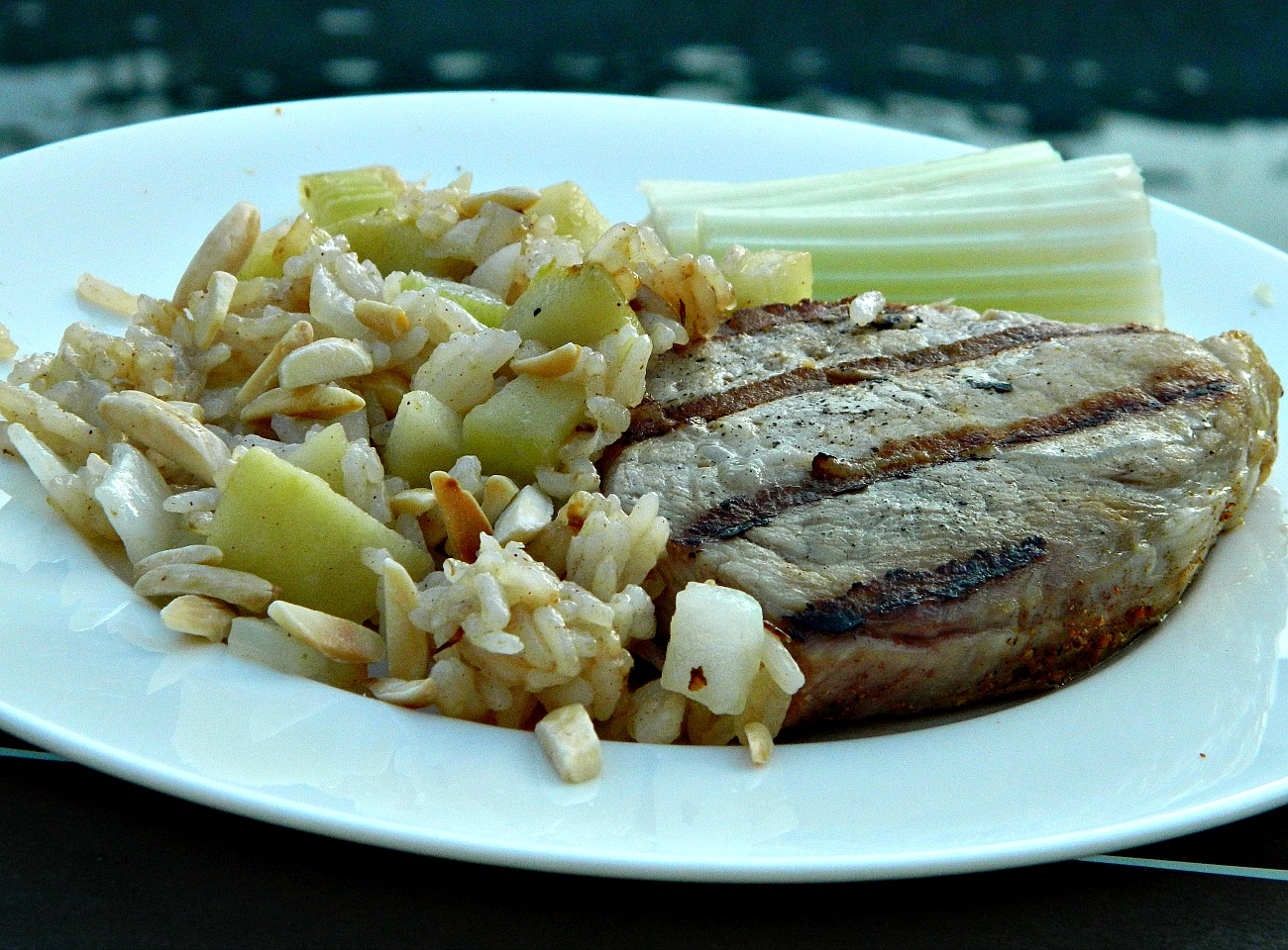 Apple Almond Rice Marianne