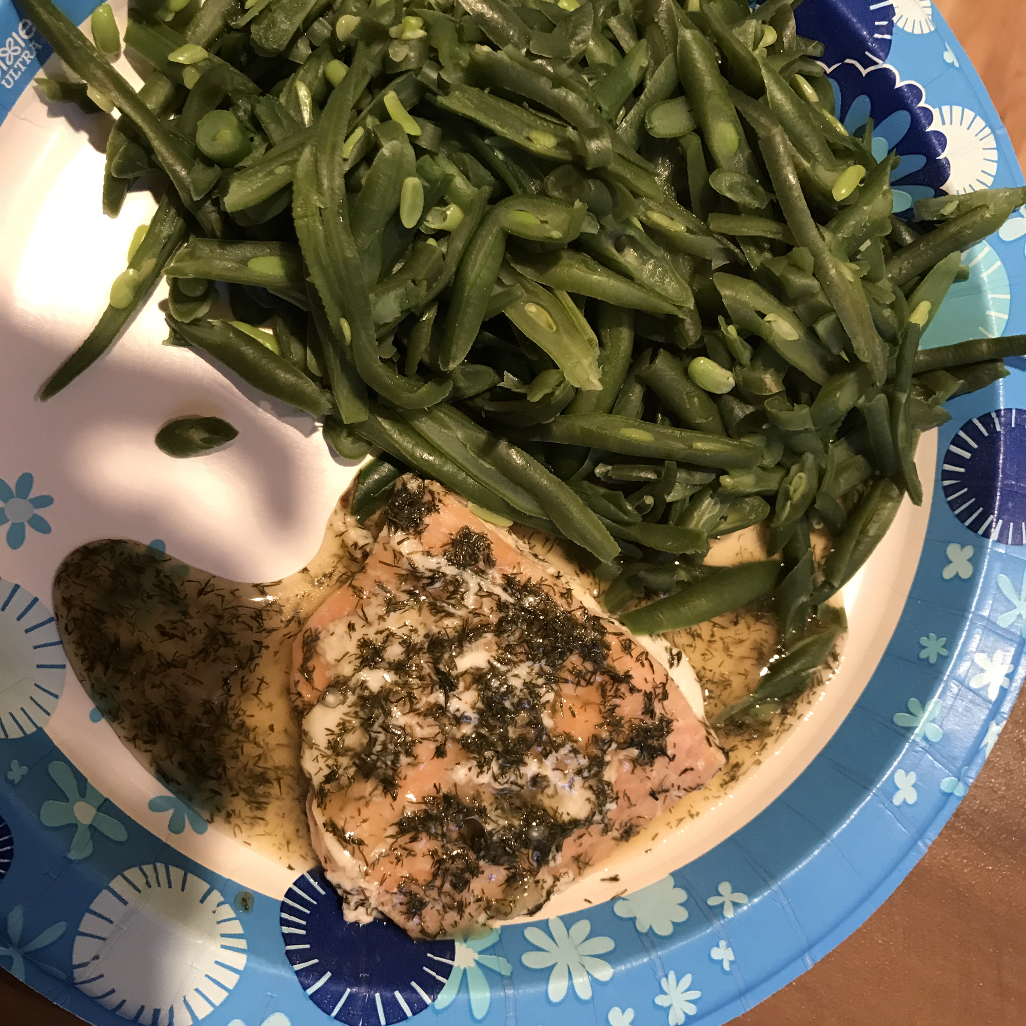 Big Ray's Lemony Grilled Salmon Fillets with Dill Sauce Raechael