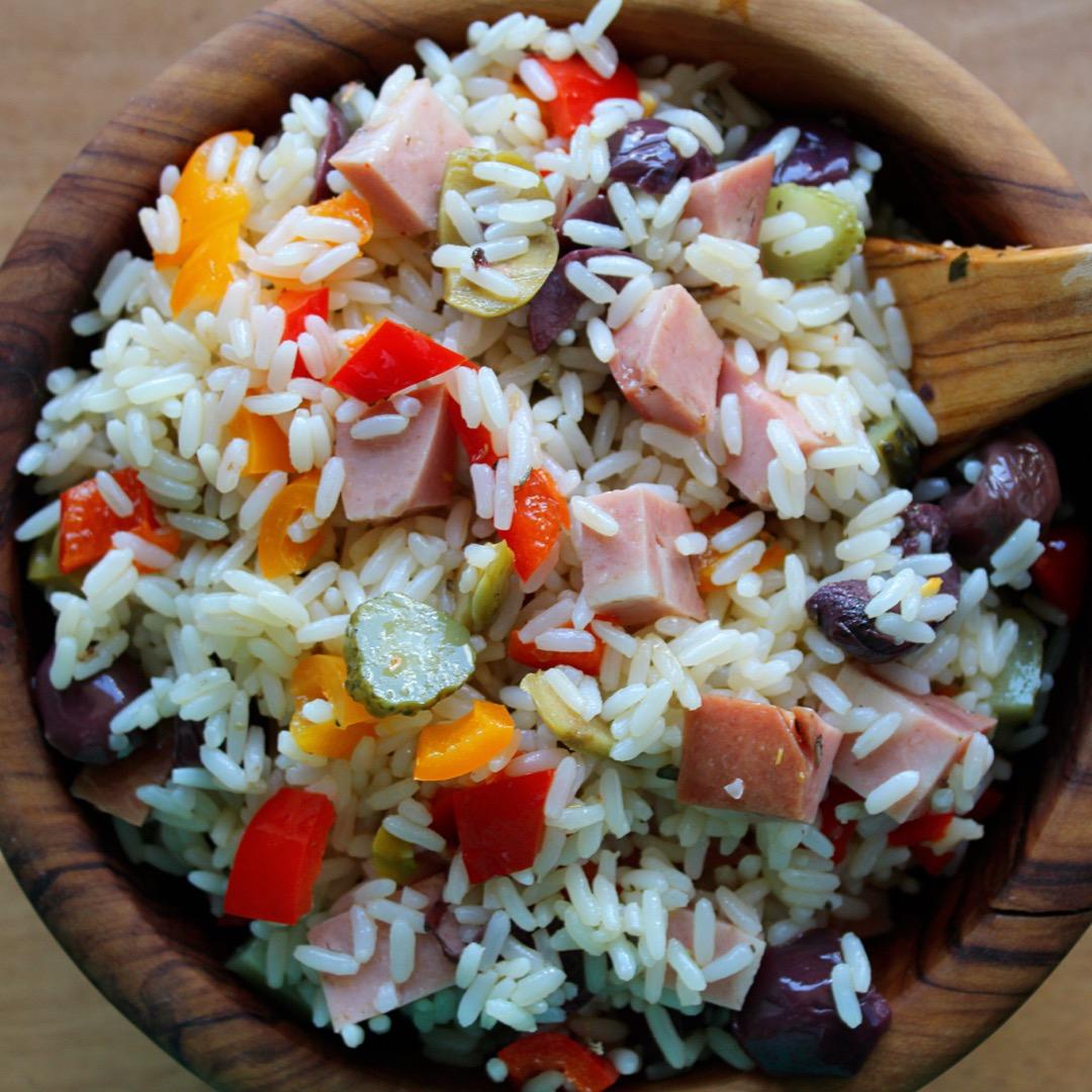 Insalata di Riso (Italian Rice Salad) Buckwheat Queen