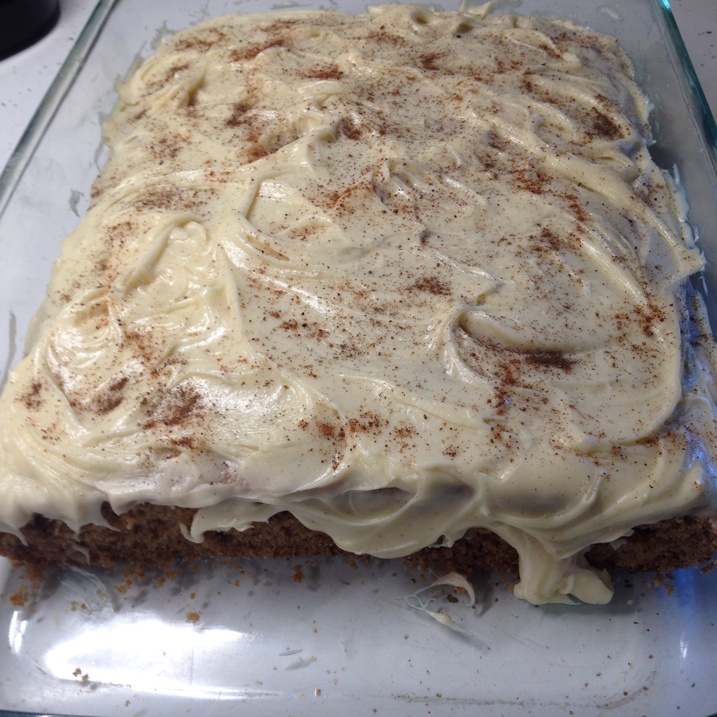 Old Fashioned Applesauce Spice Cake tina