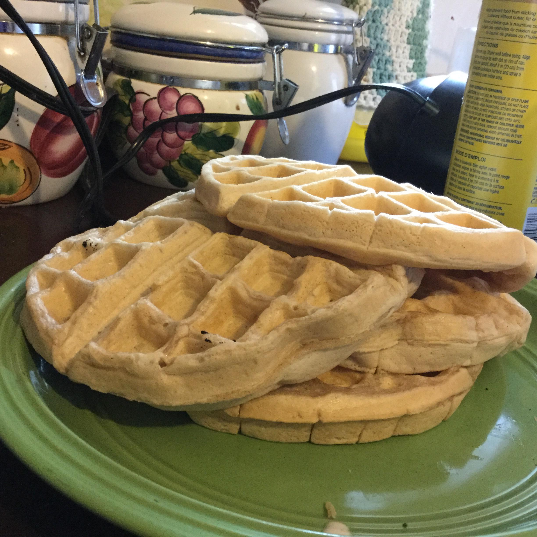 Vegan Cinnamon Waffles