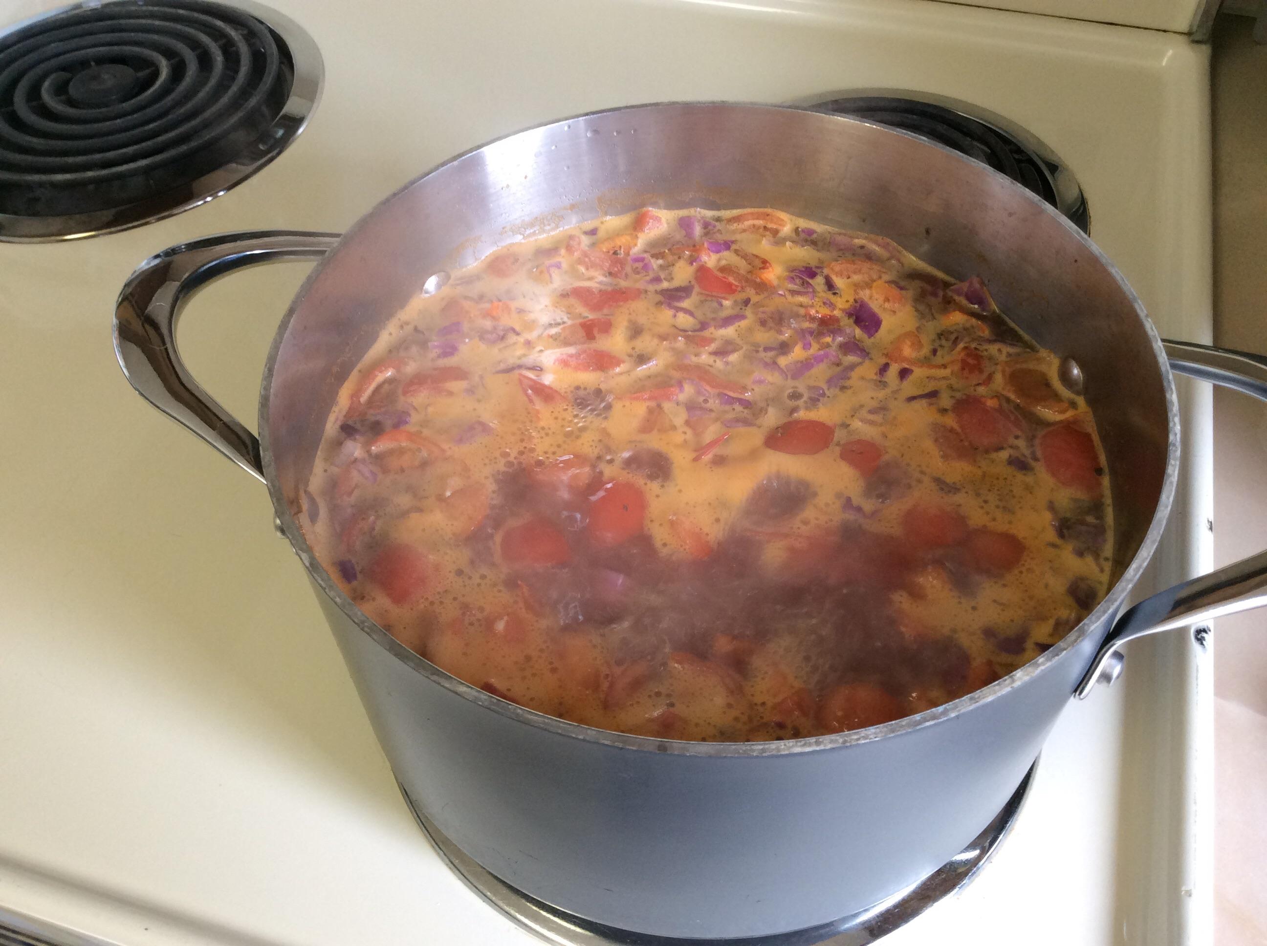 Cabbage, Potato, and Tomato Soup Judi221