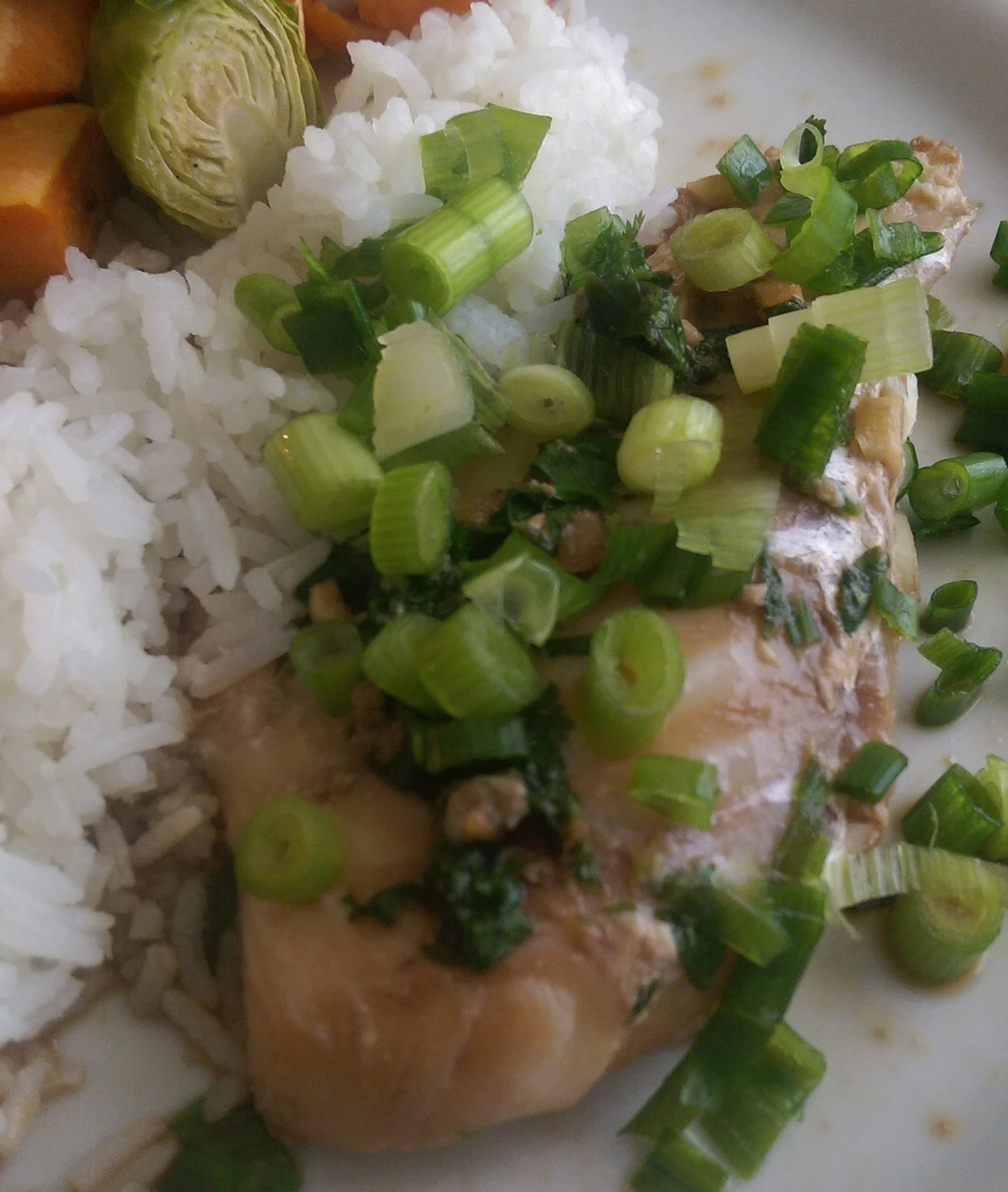Paleo Soy and Ginger Poached Flounder Irene Y