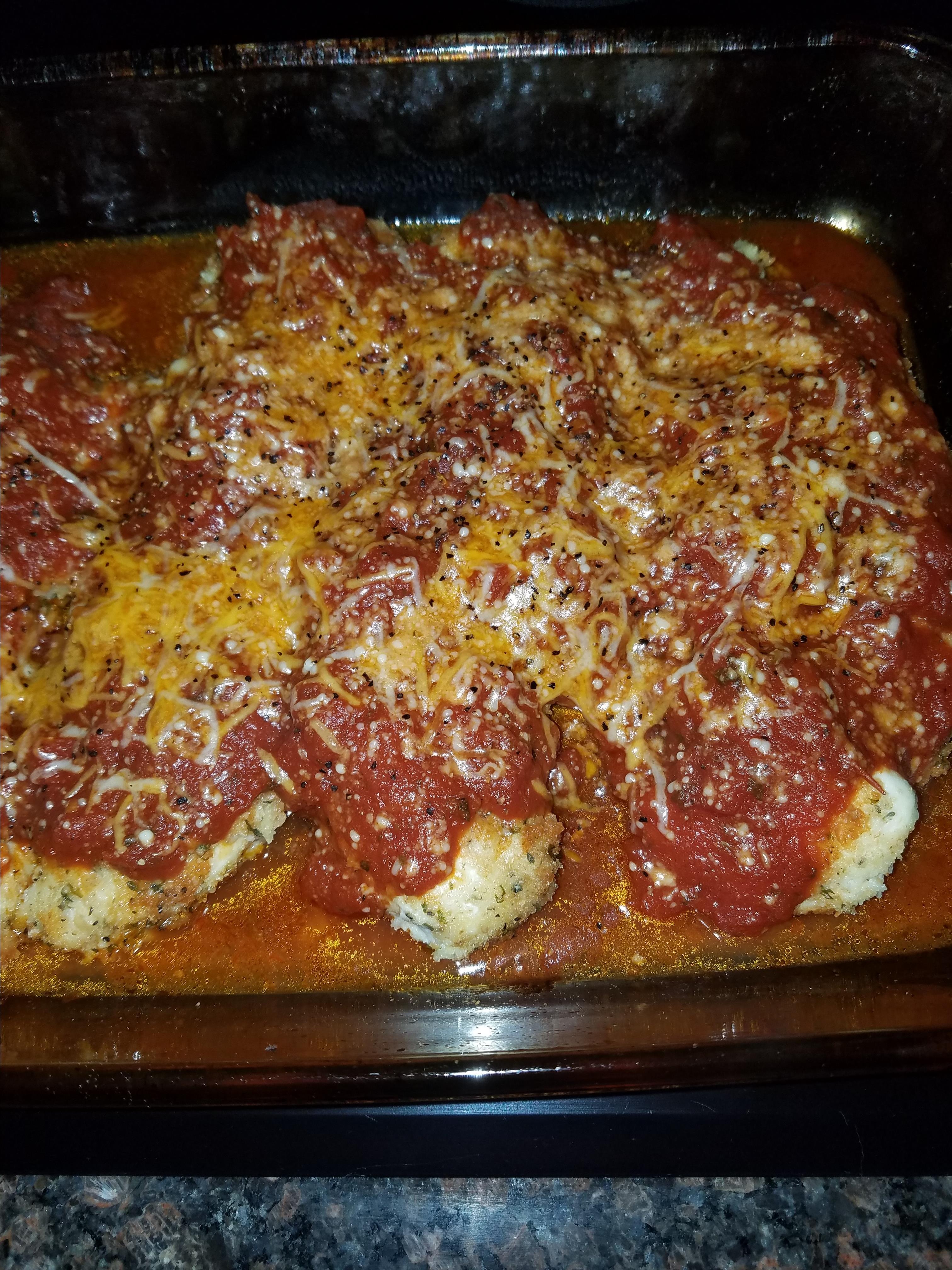 Farm Lady's Delicious Chicken Parmesan Stephanie :o)