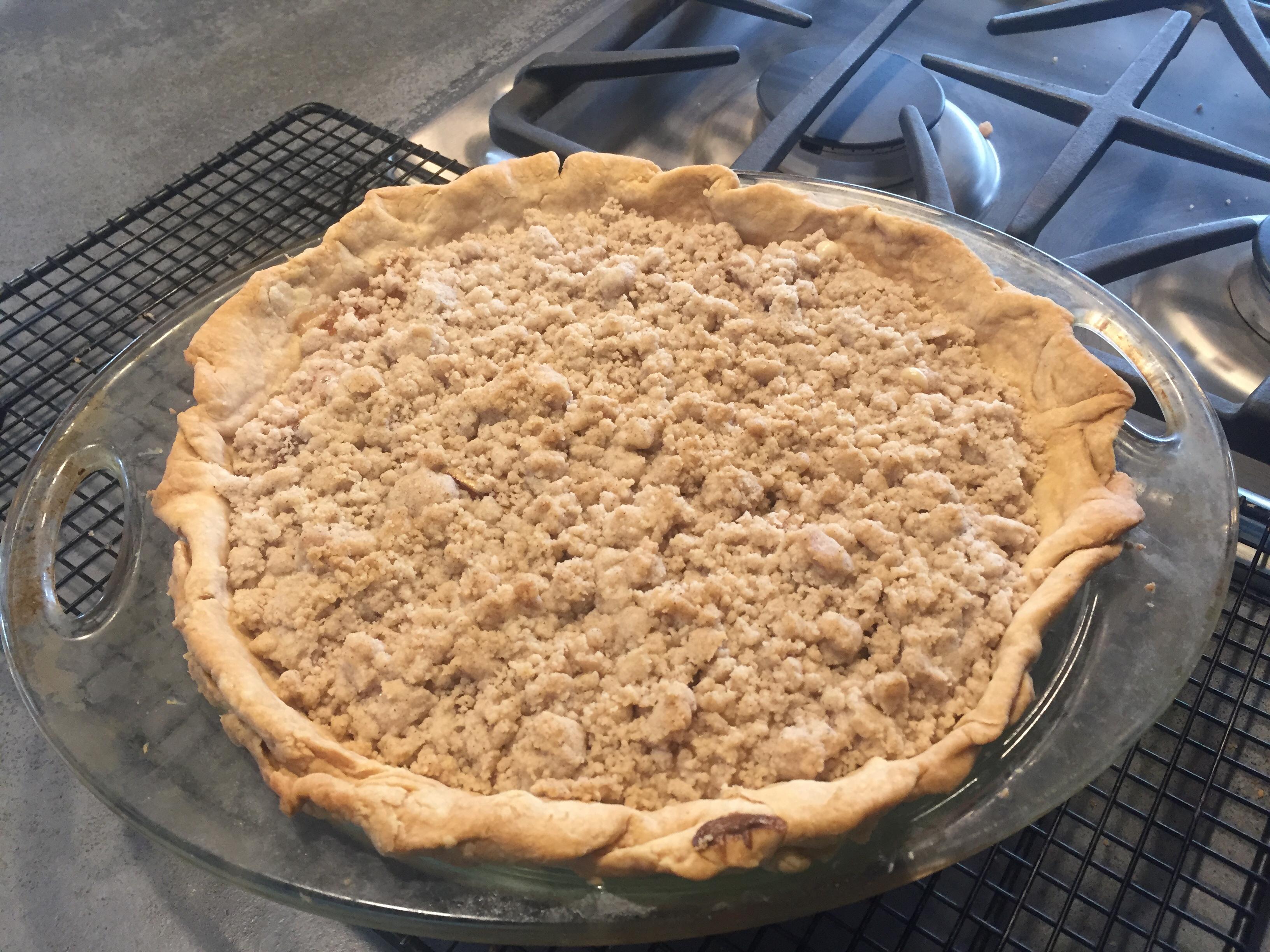 Old-Fashioned Peach Cream Pie Debbie Albrandt Waldner