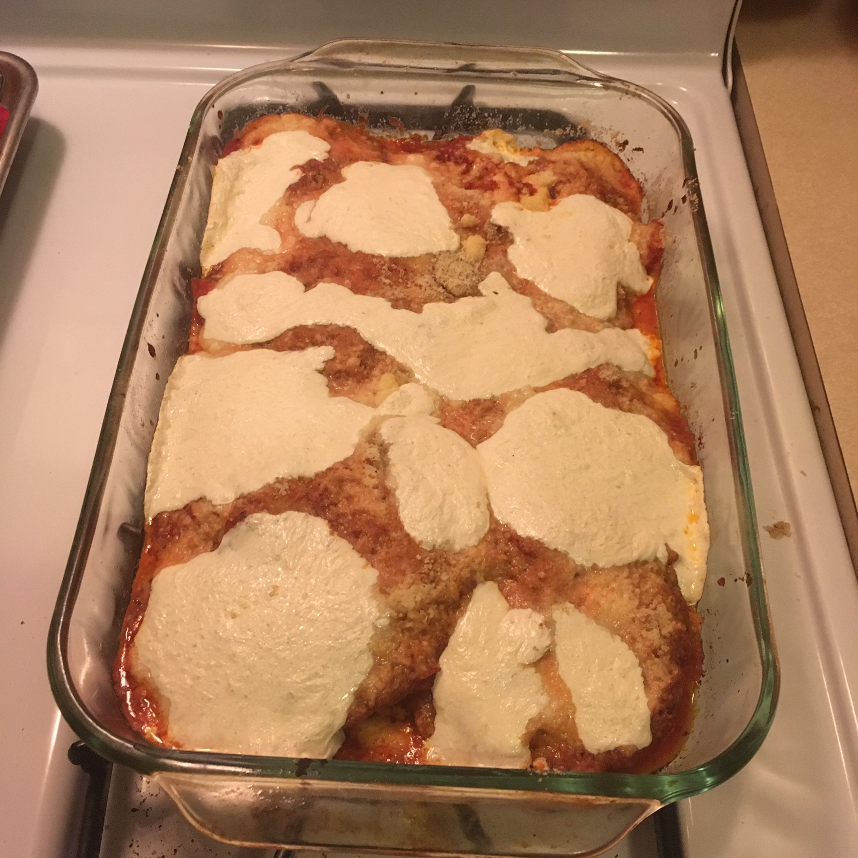 Eggplant Parmesan With Easy Homemade Sauce laisw